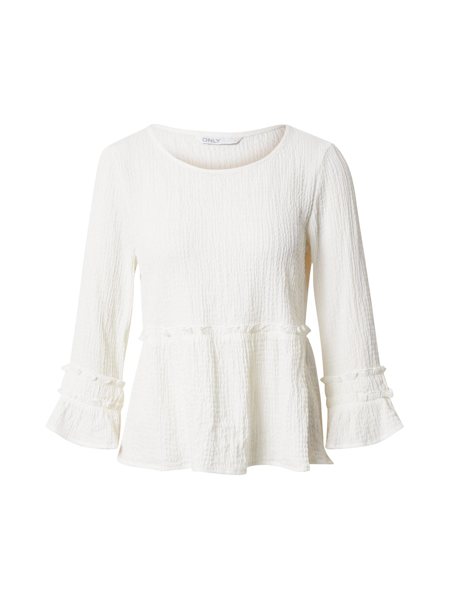 ONLY Palaidinė 'HENRIETTA' perlų balta