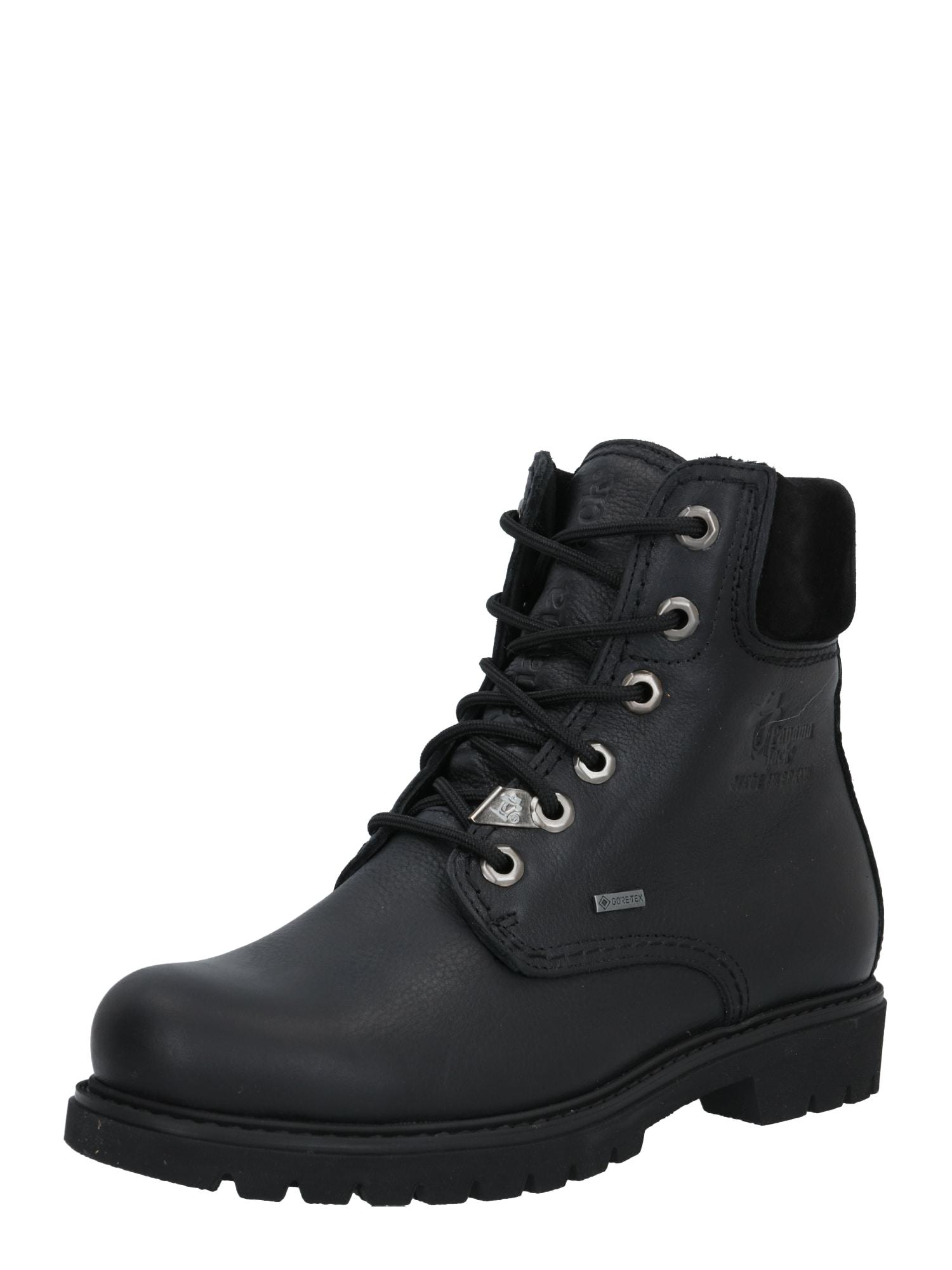 PANAMA JACK Suvarstomieji kulkšnis dengiantys batai juoda