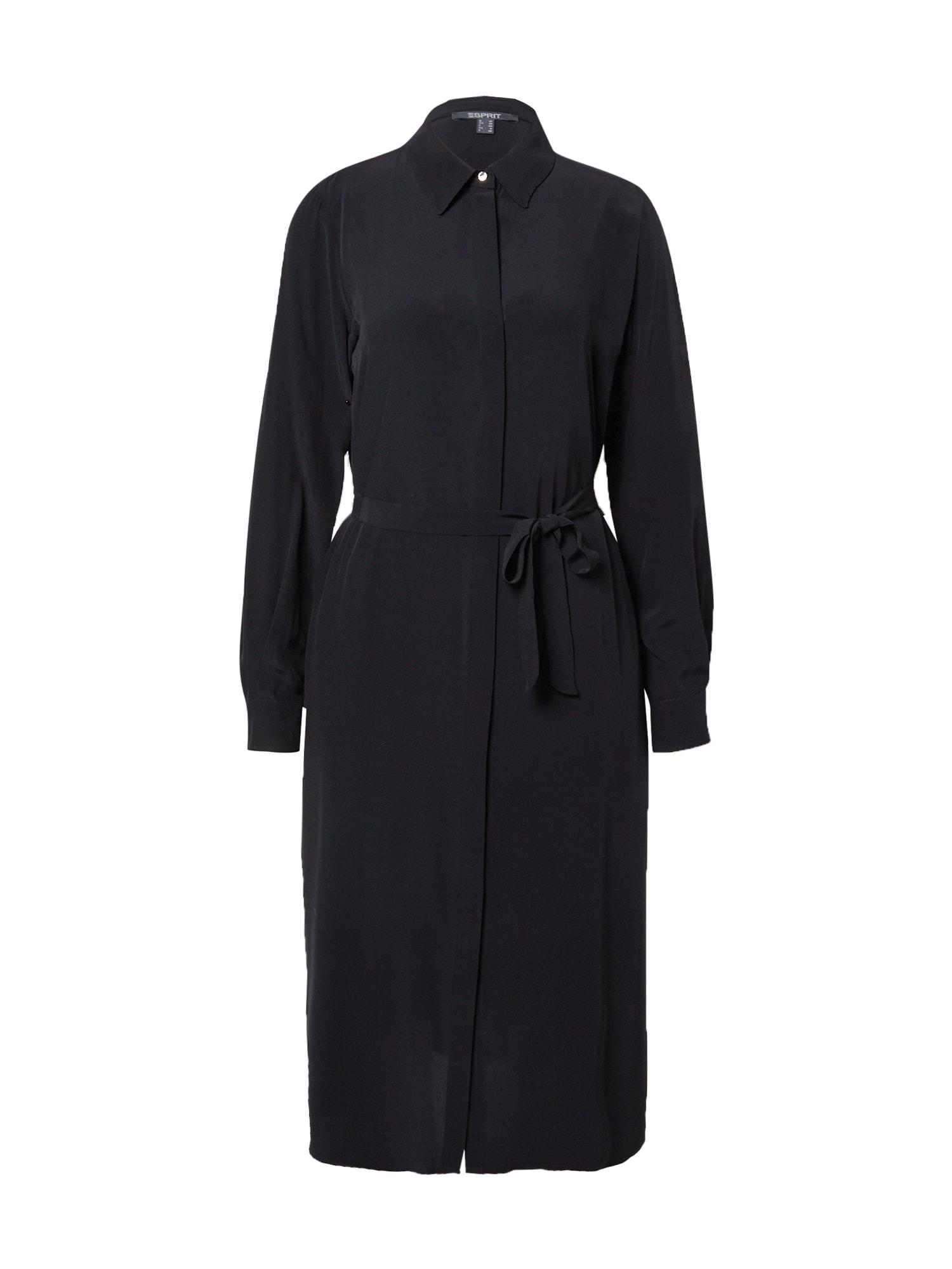Esprit Collection Palaidinės tipo suknelė juoda