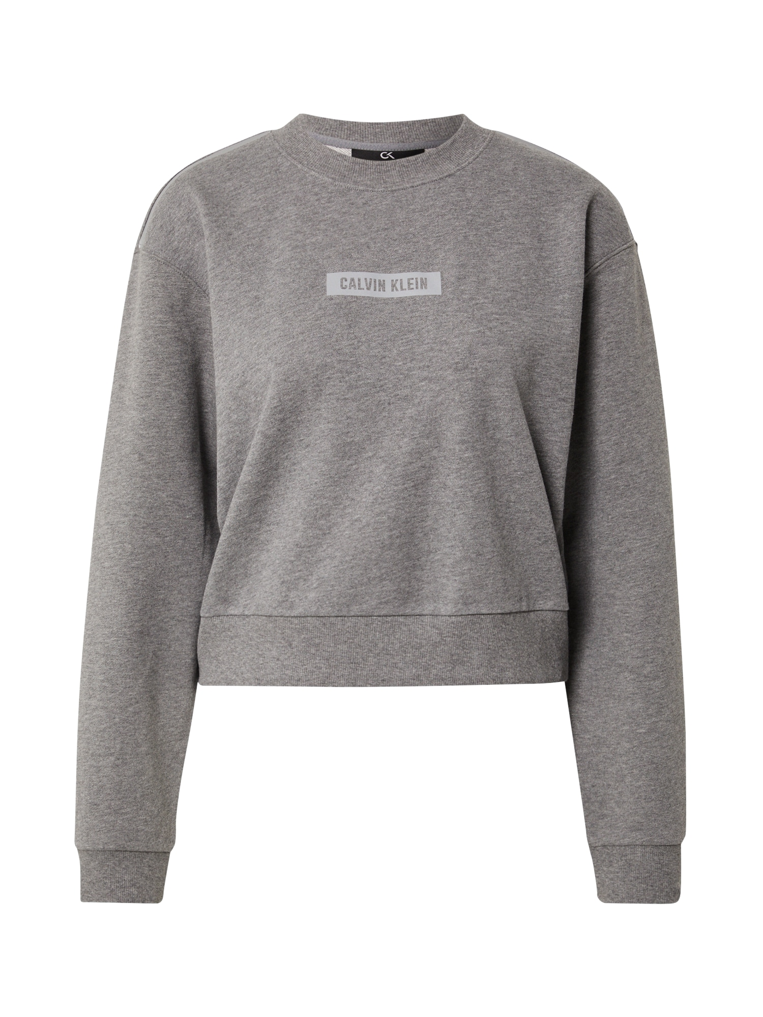 Calvin Klein Performance Sportinio tipo megztinis margai pilka