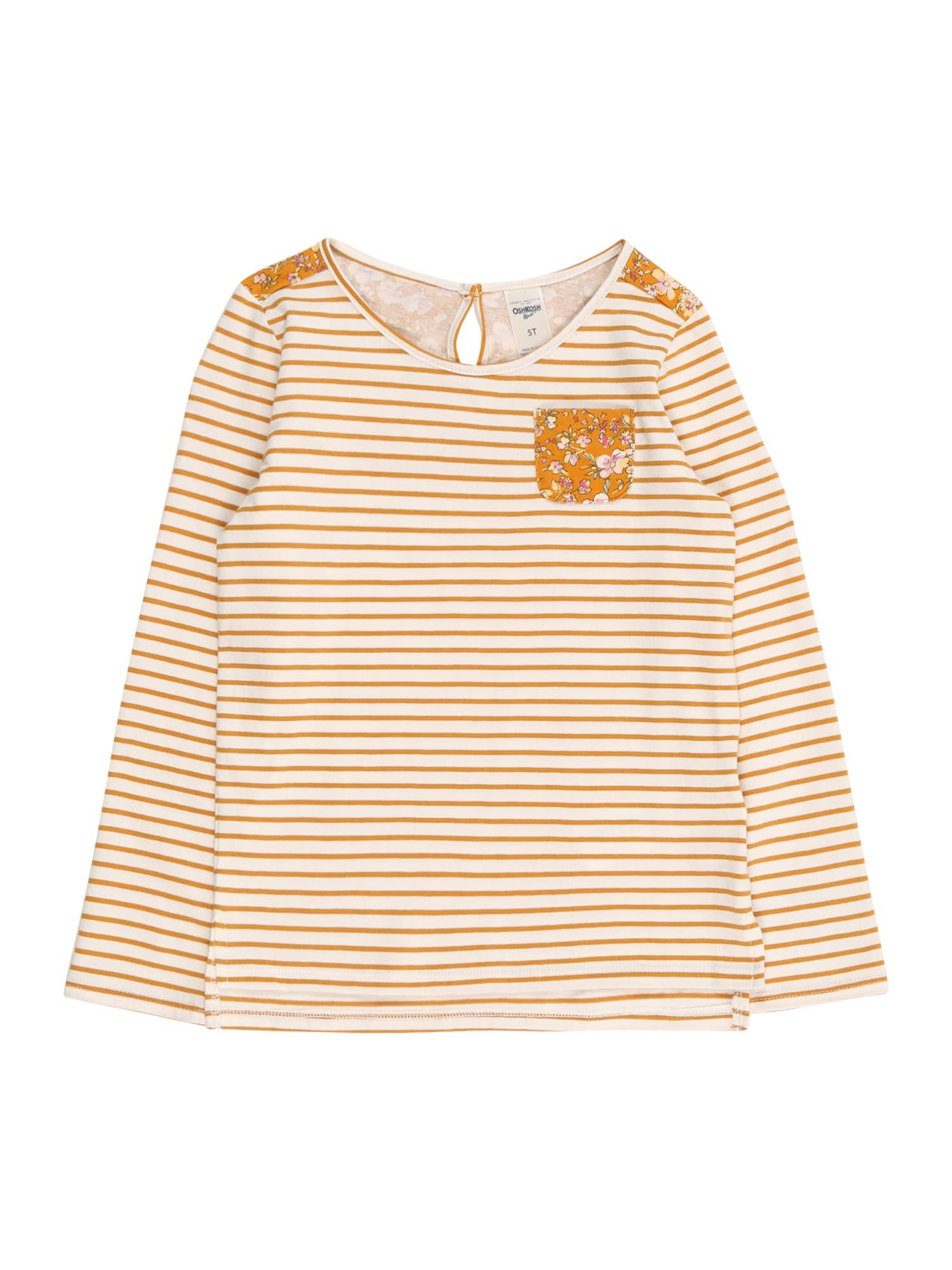 OshKosh Marškinėliai geltona / balta
