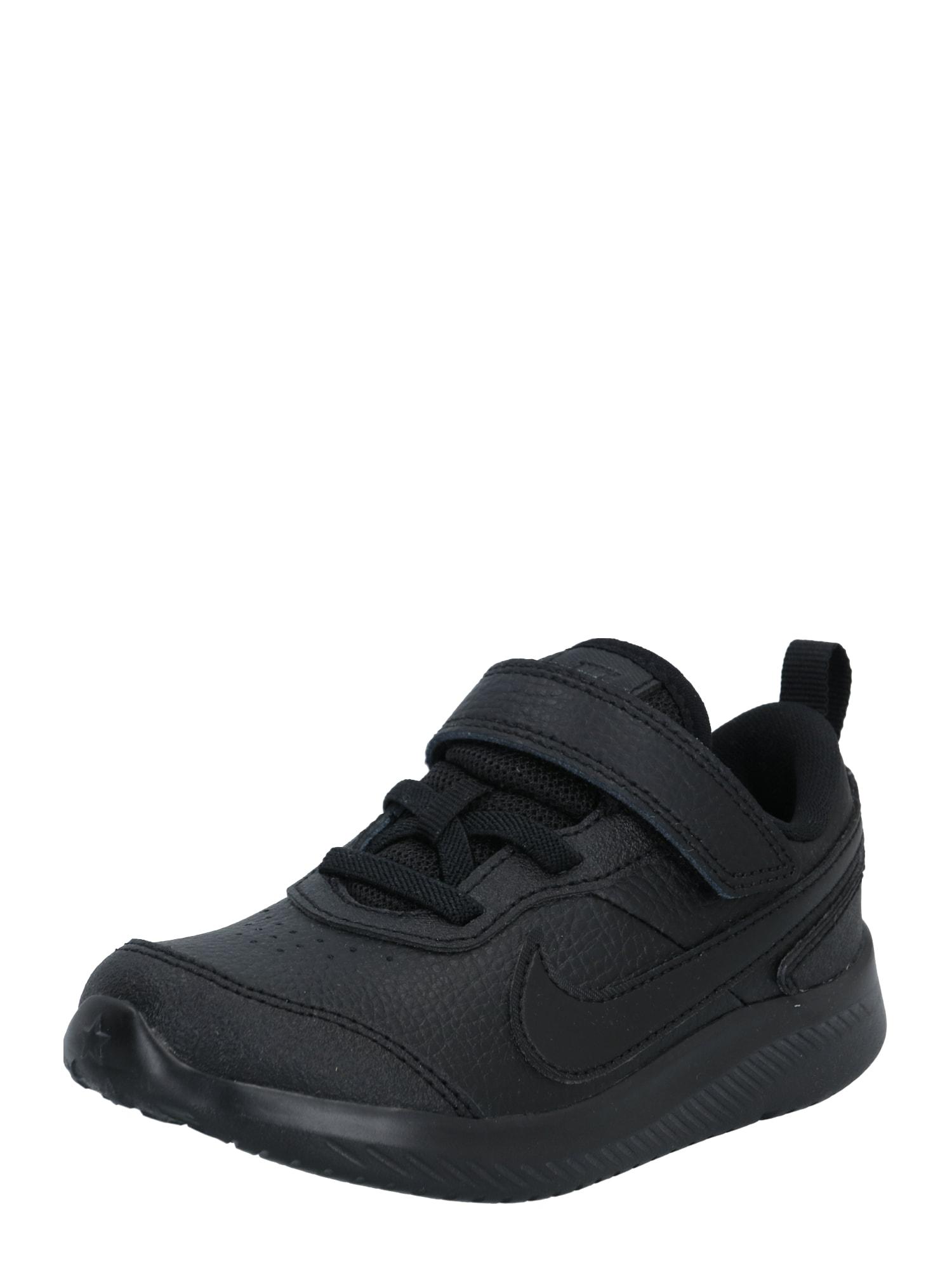 NIKE Sportiniai batai ' Varsity' juoda