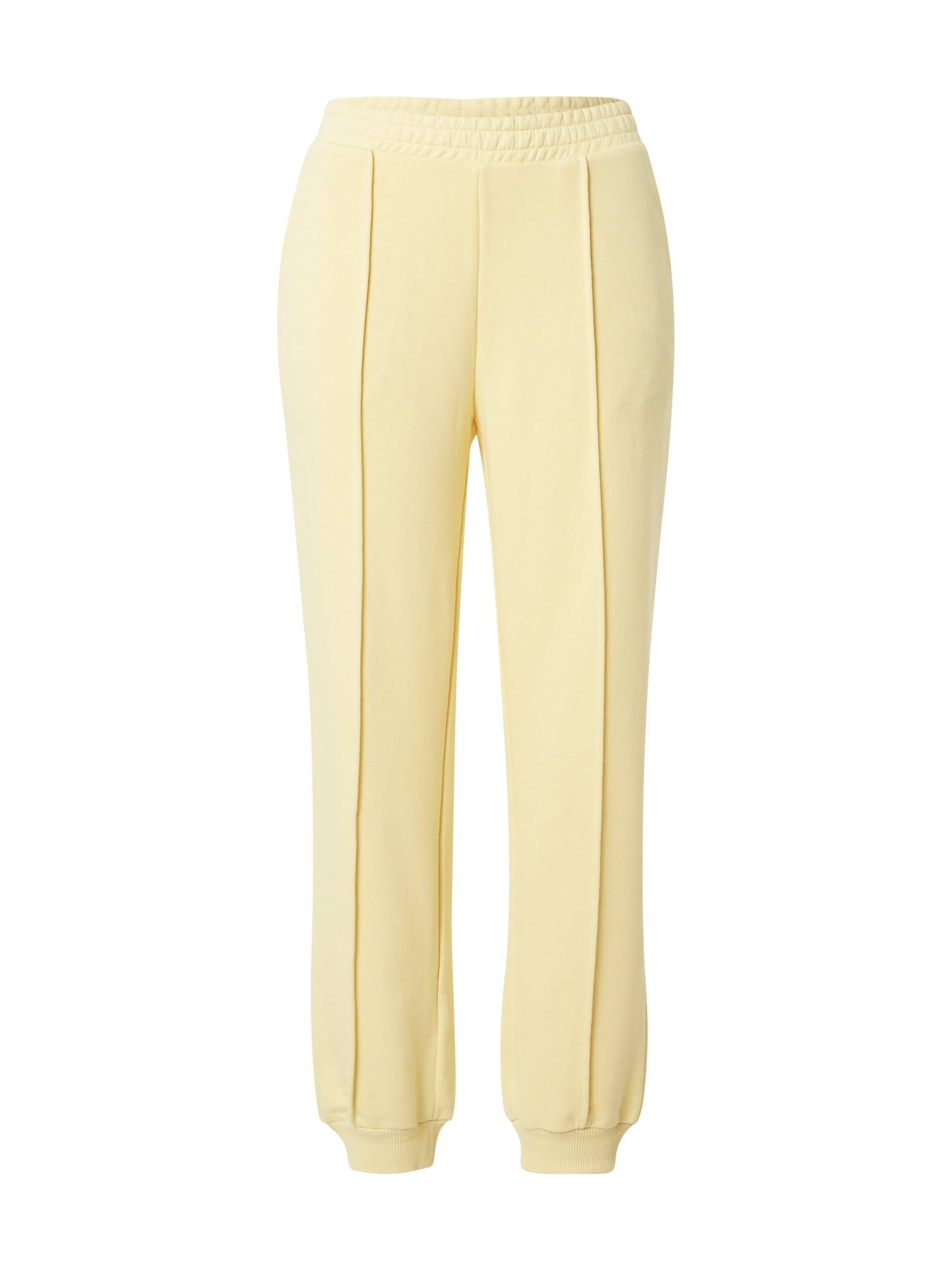 NA-KD Kelnės šviesiai geltona