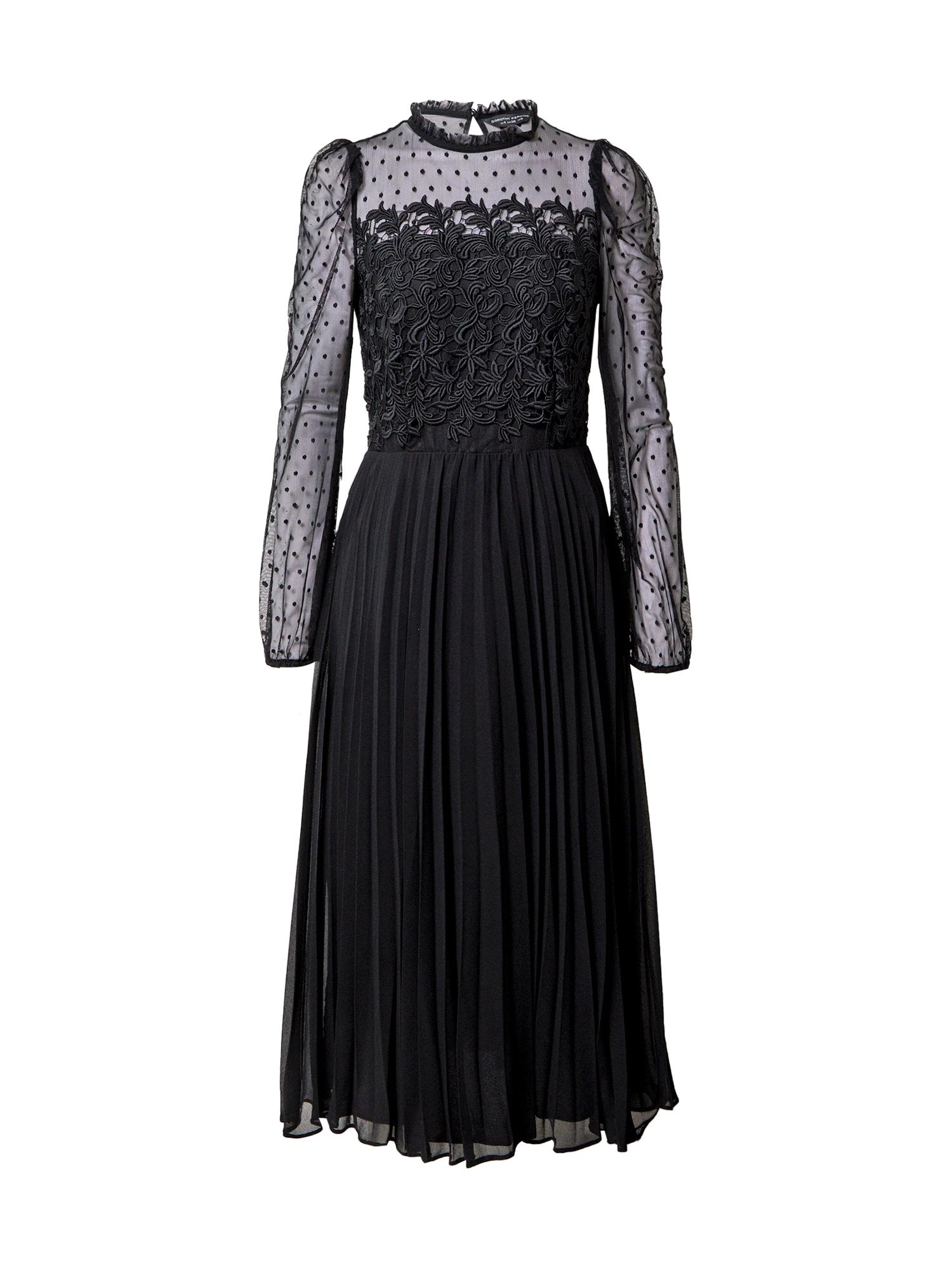 Dorothy Perkins Palaidinės tipo suknelė juoda
