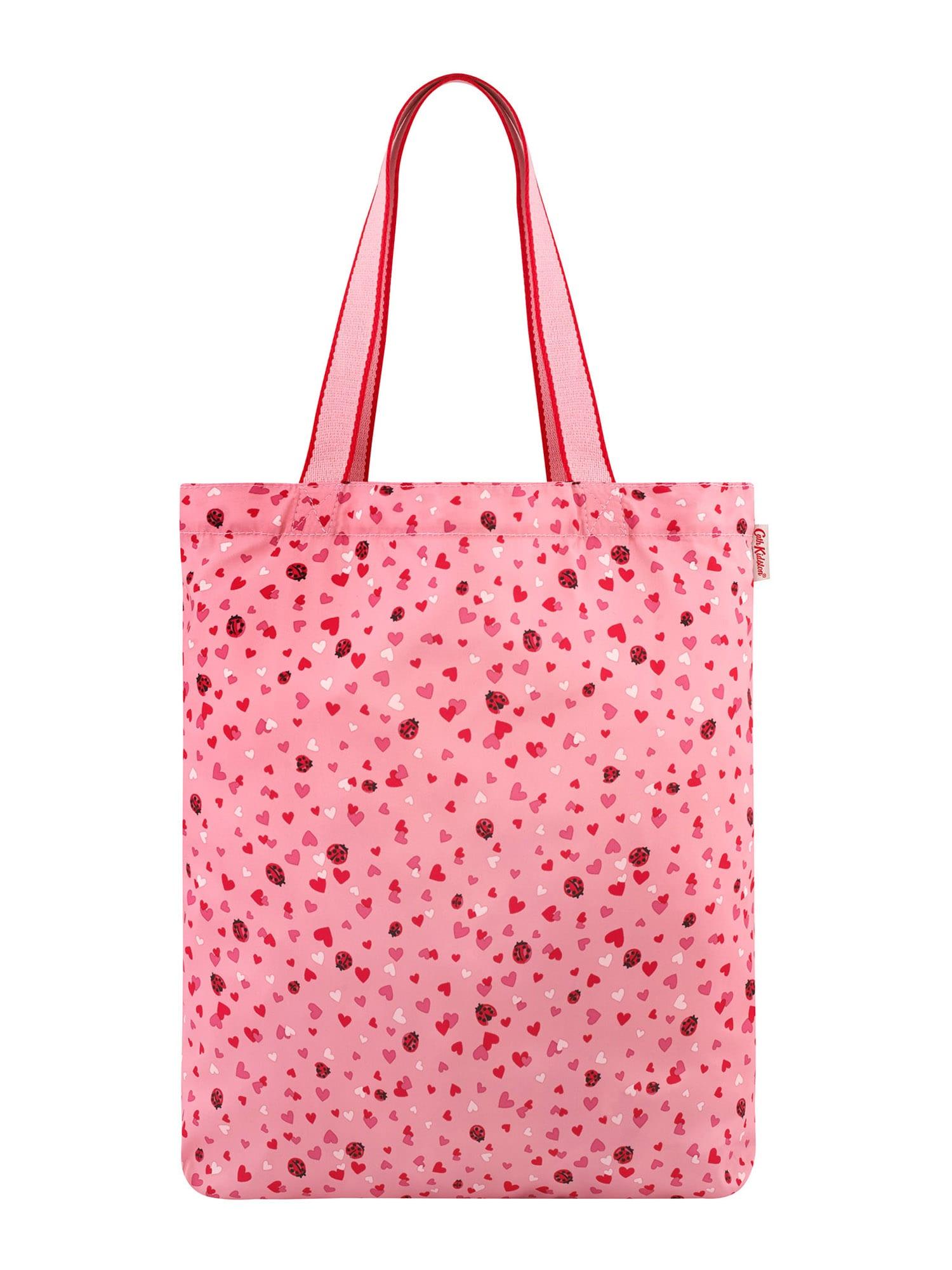 Cath Kidston Pirkinių krepšys rožių spalva / raudona / balta / rožinė