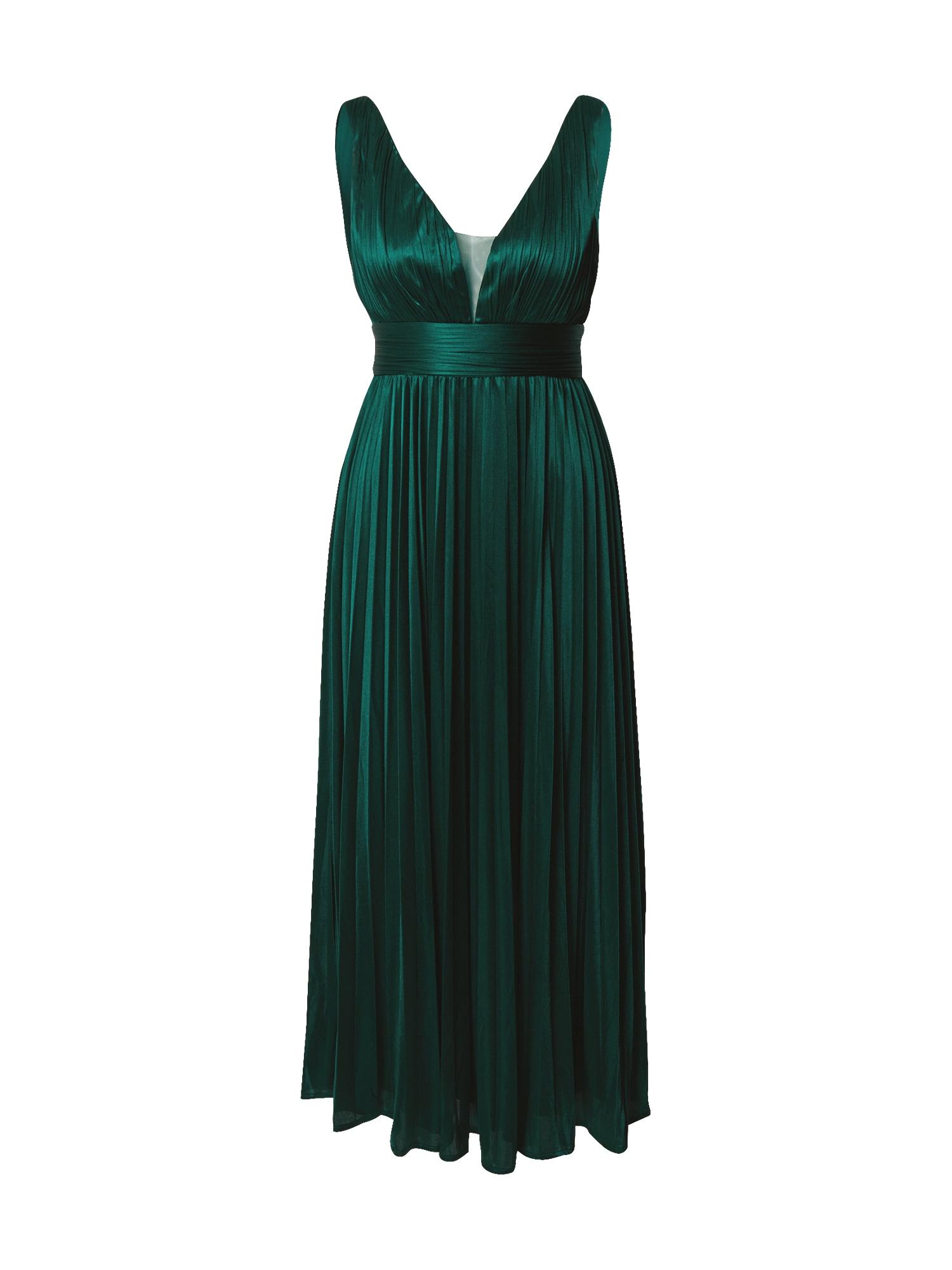 Forever Unique Kokteilinė suknelė smaragdinė spalva