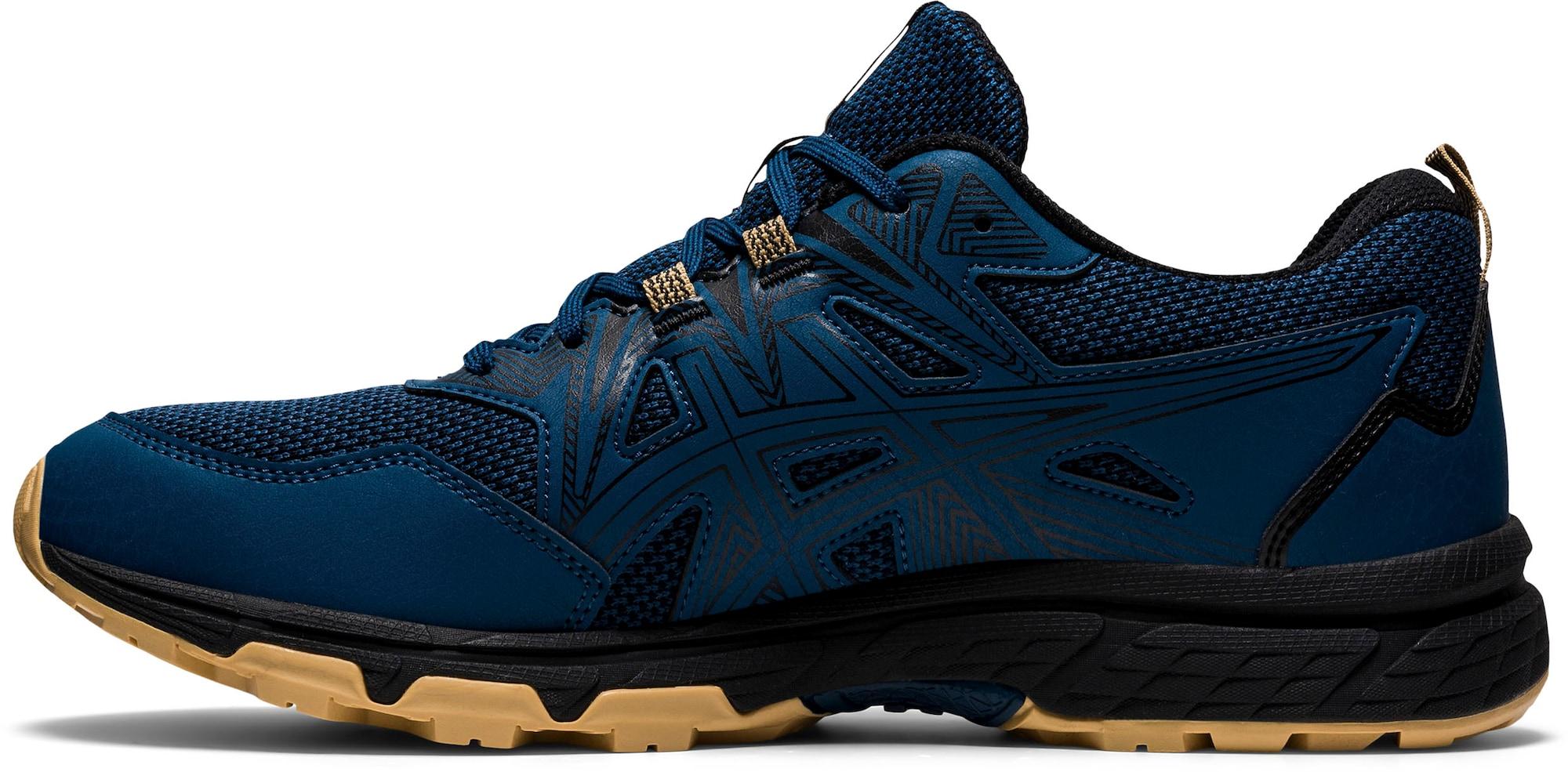 ASICS Bėgimo batai tamsiai mėlyna / juoda