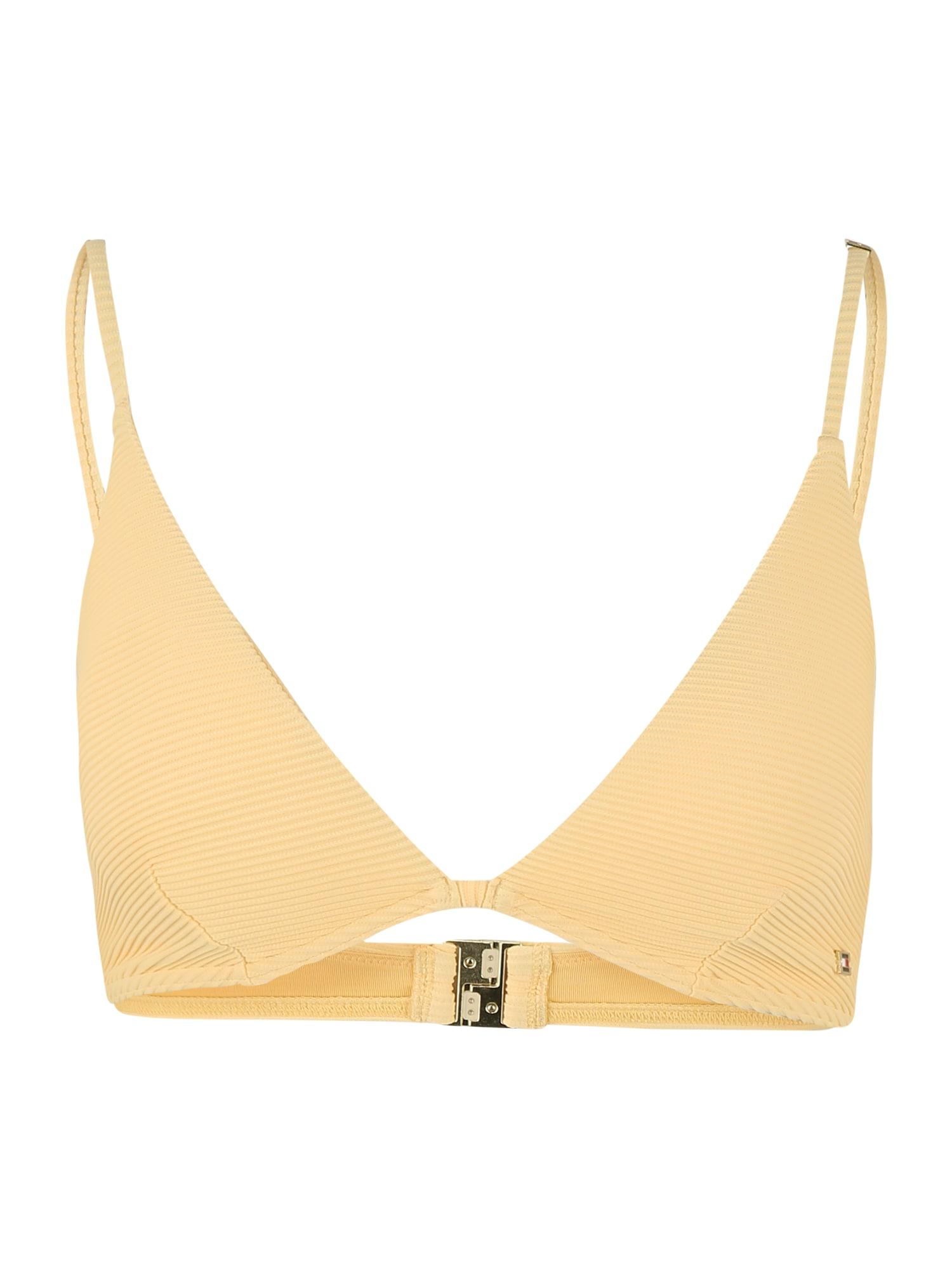 Tommy Hilfiger Underwear Bikinio viršutinė dalis šviesiai geltona