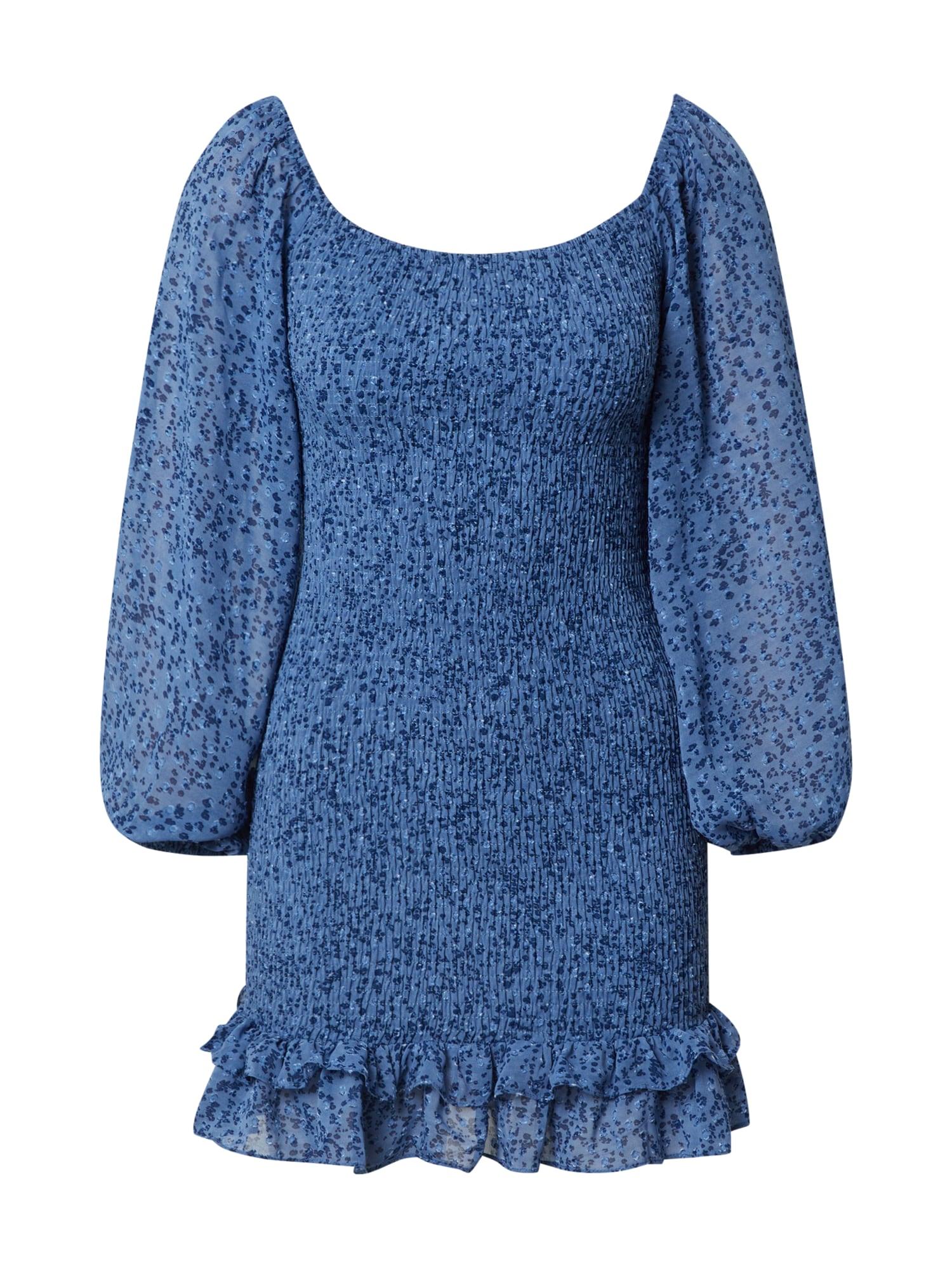Love Triangle Suknelė mėlyna / tamsiai mėlyna