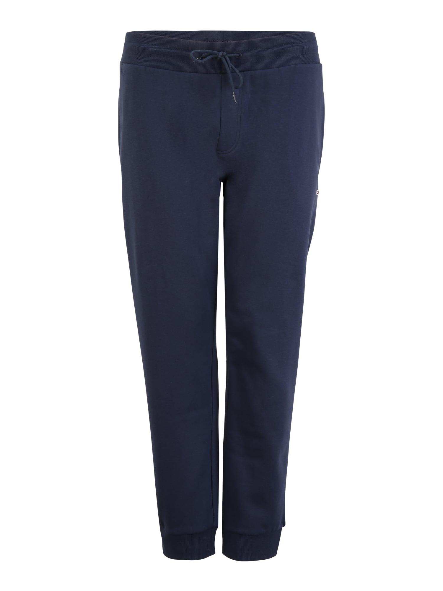 Tommy Jeans Plus Kelnės tamsiai mėlyna