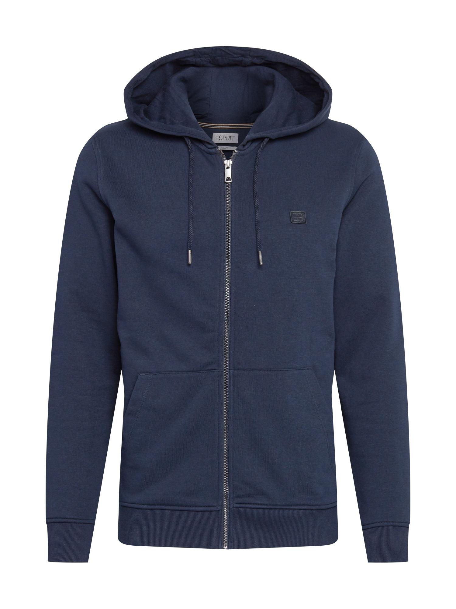 ESPRIT Džemperis tamsiai mėlyna