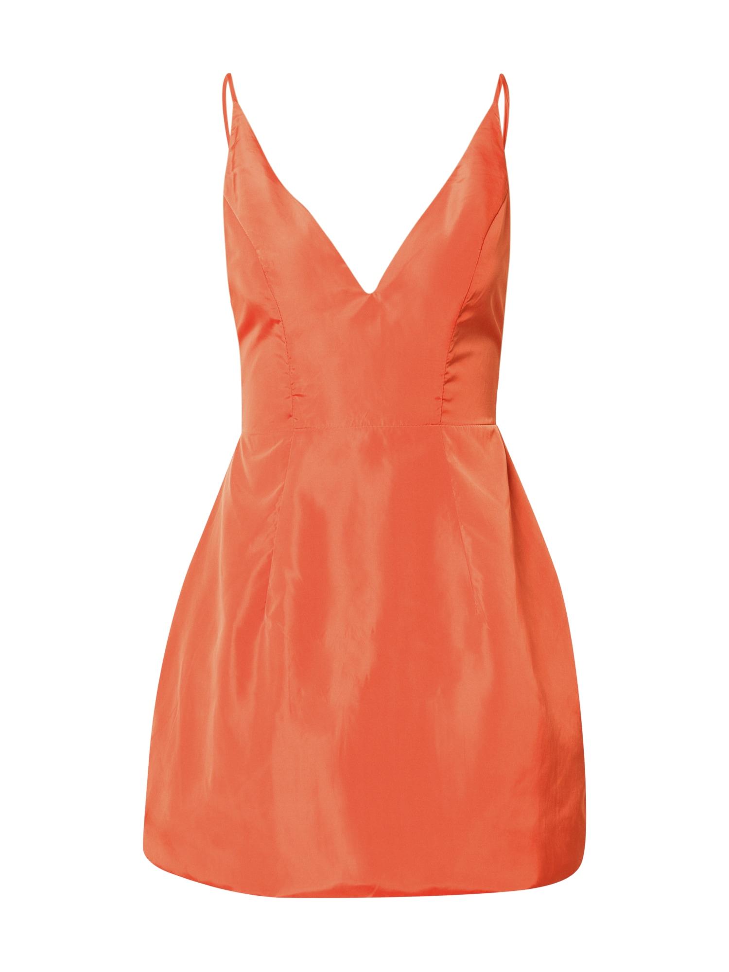 Love Triangle Vasarinė suknelė 'SELENA' oranžinė-raudona