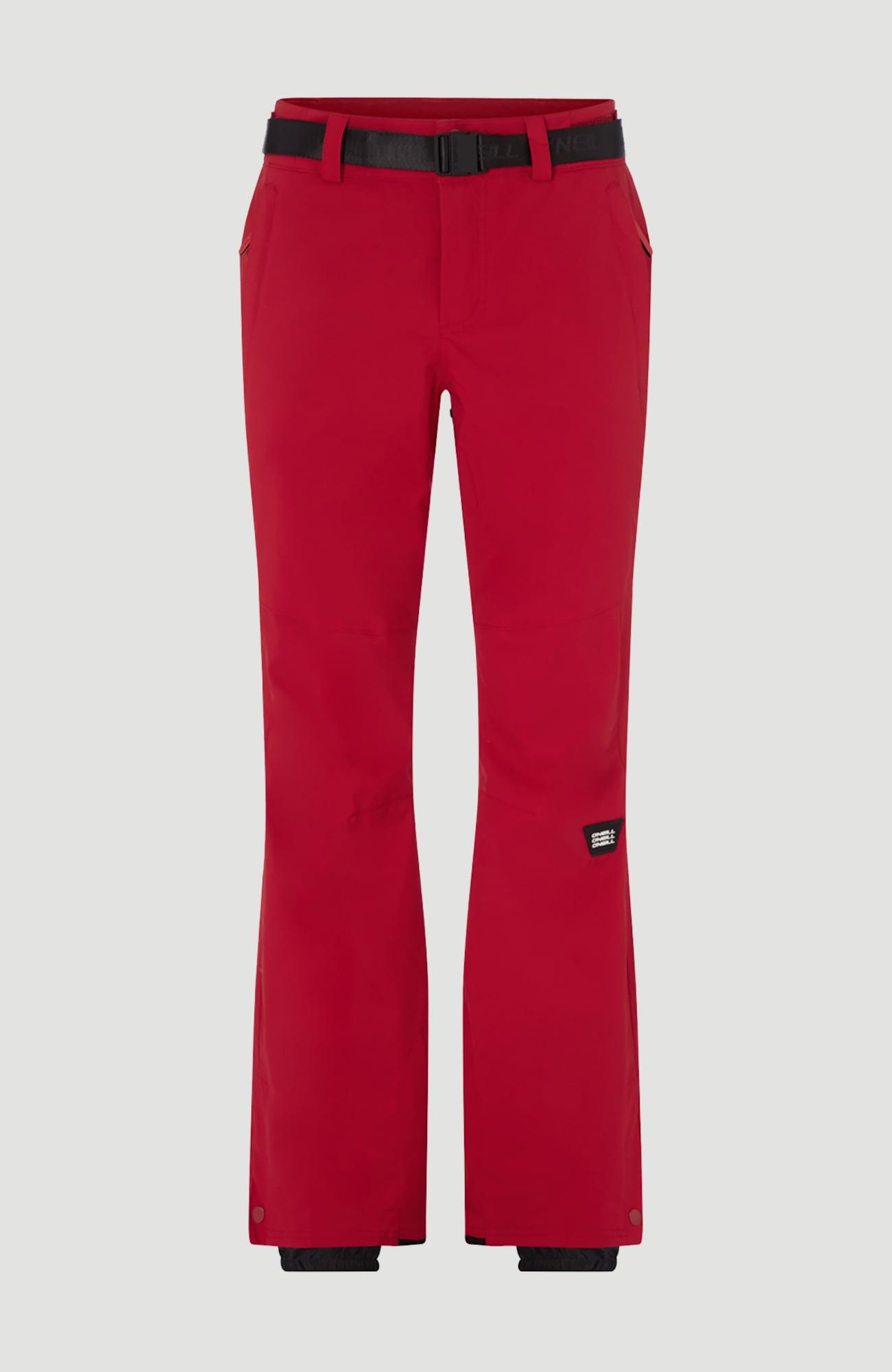 O'NEILL Outdoorové kalhoty 'Star Slim'  červená