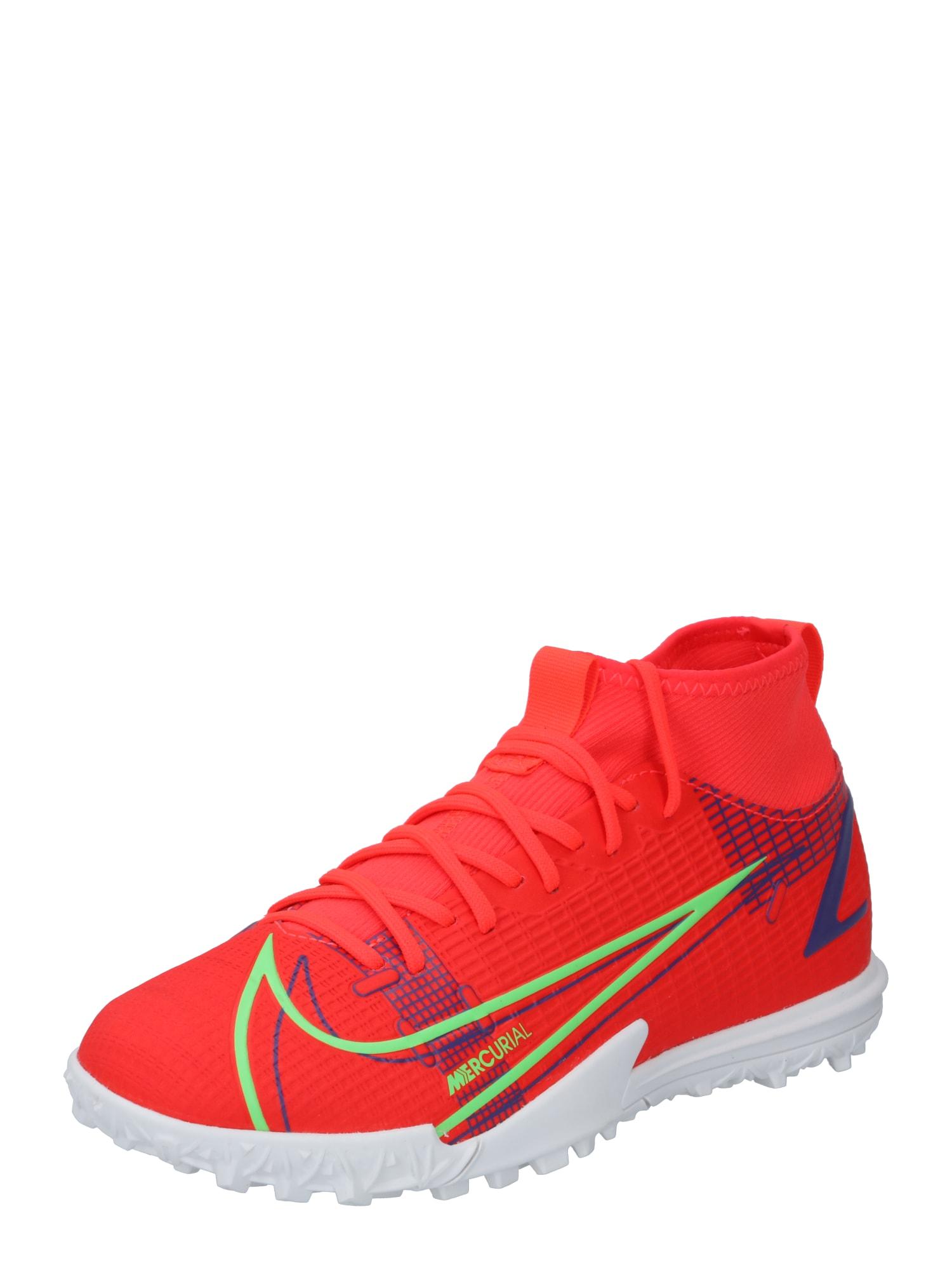 NIKE Sportiniai batai 'Mercurial 8 Academy' raudona