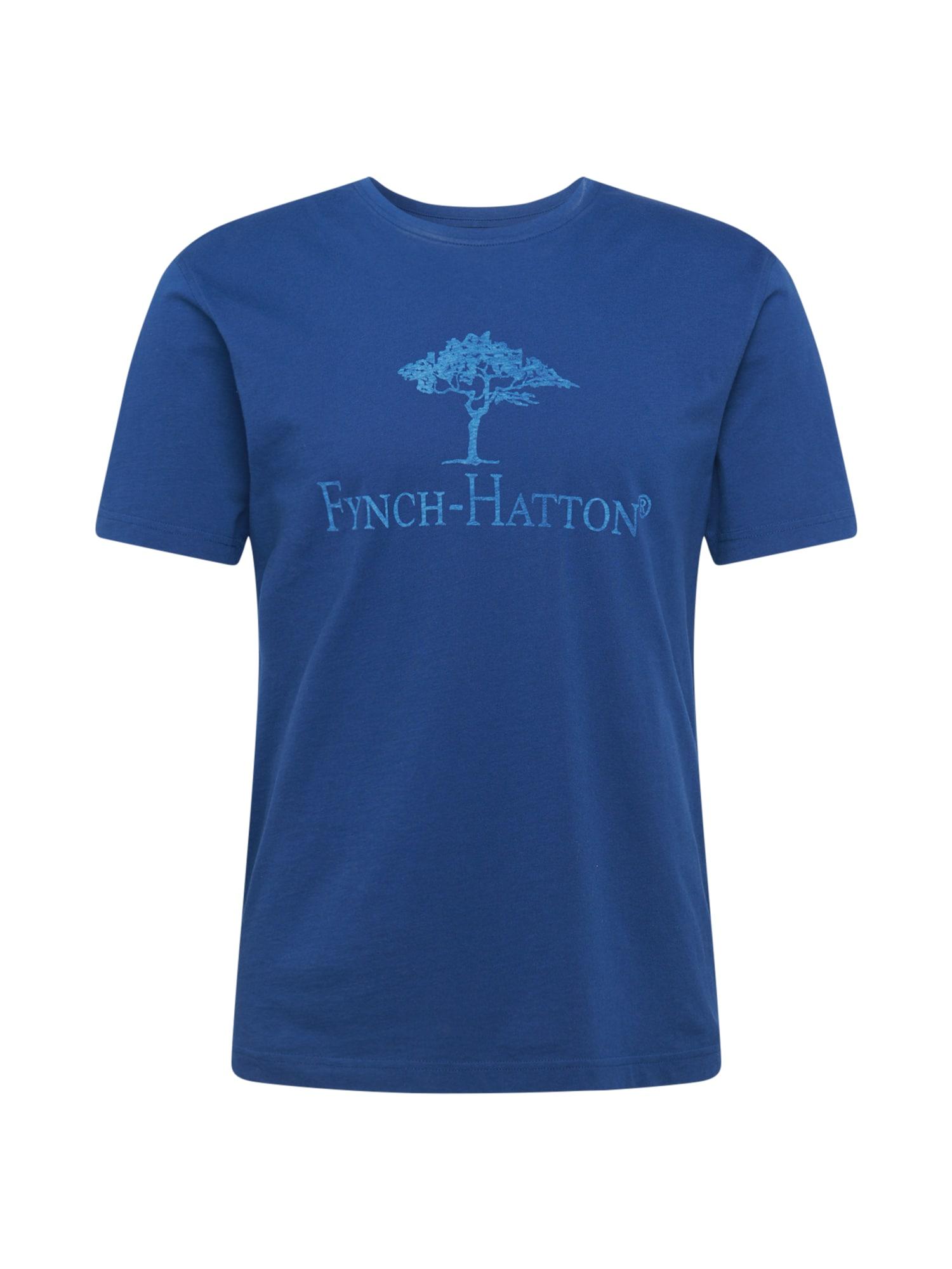FYNCH-HATTON Marškinėliai dangaus žydra / šviesiai mėlyna