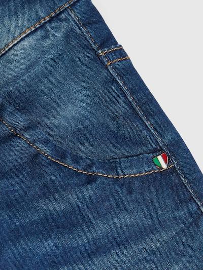 Name It Kids Theo mittelblaue Jeans mit extra enger Passform
