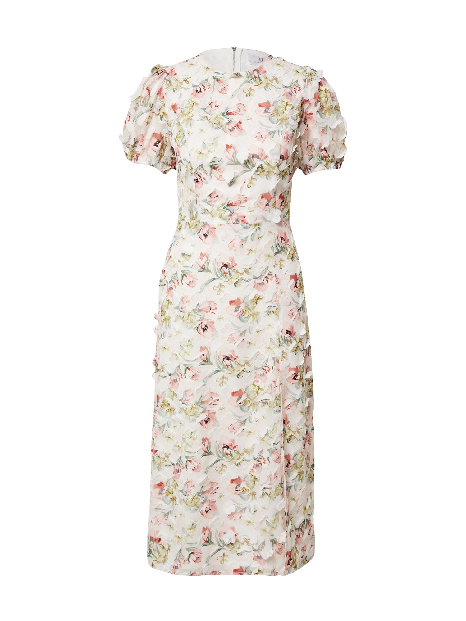 Forever Unique Kokteilinė suknelė mišrios spalvos / balta