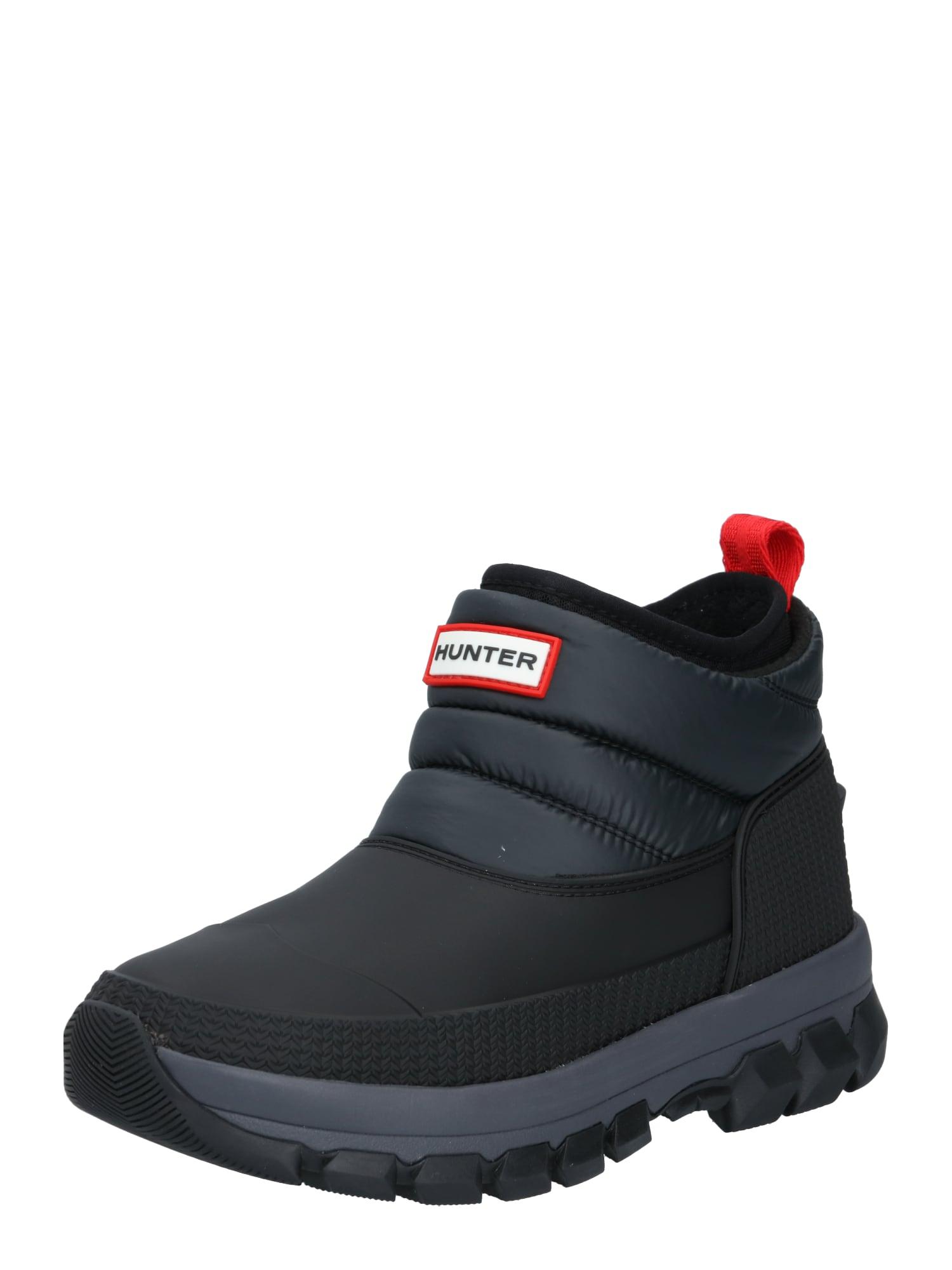 HUNTER Sniego batai juoda