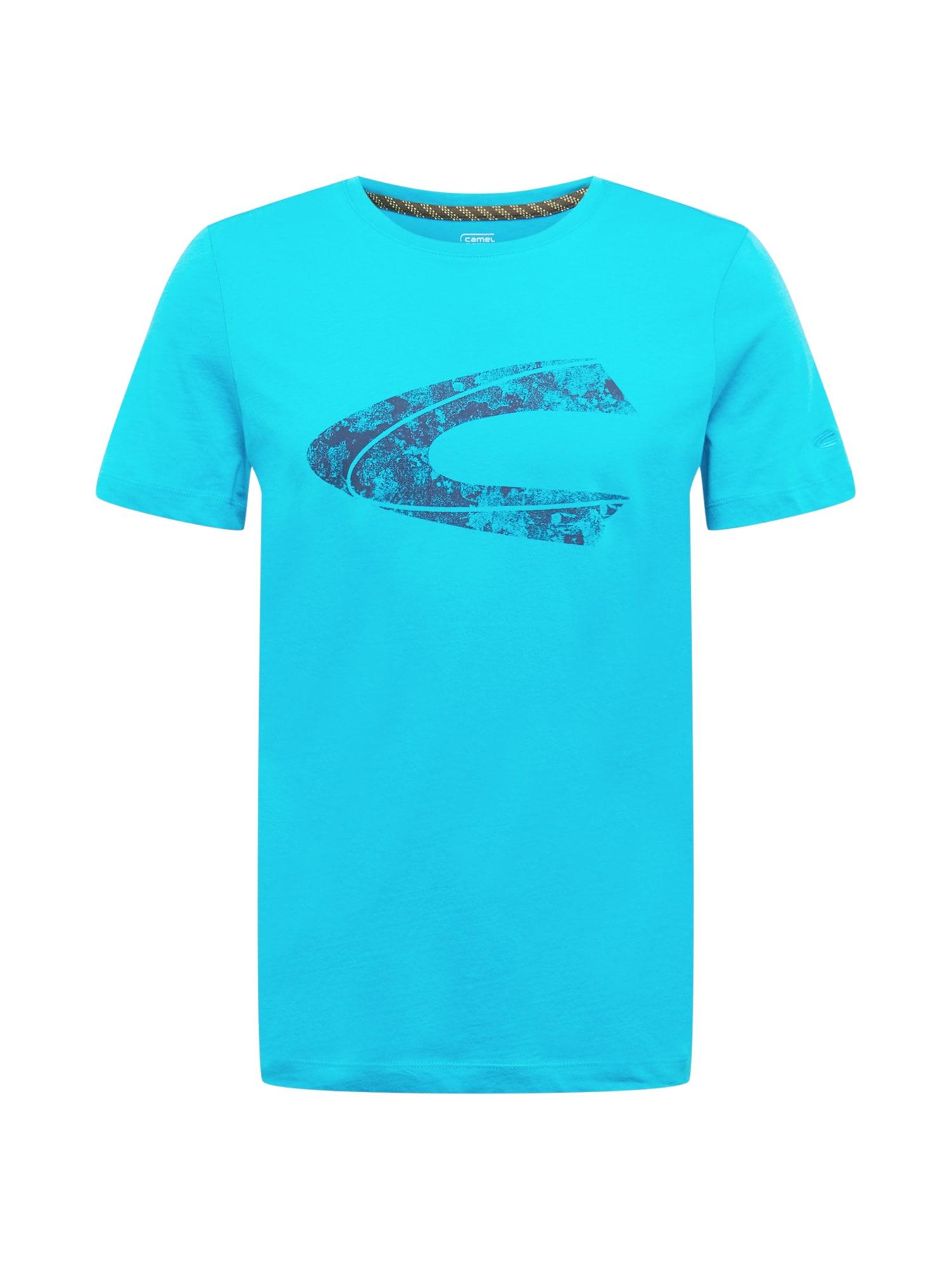 CAMEL ACTIVE Marškinėliai tamsiai mėlyna / dangaus žydra