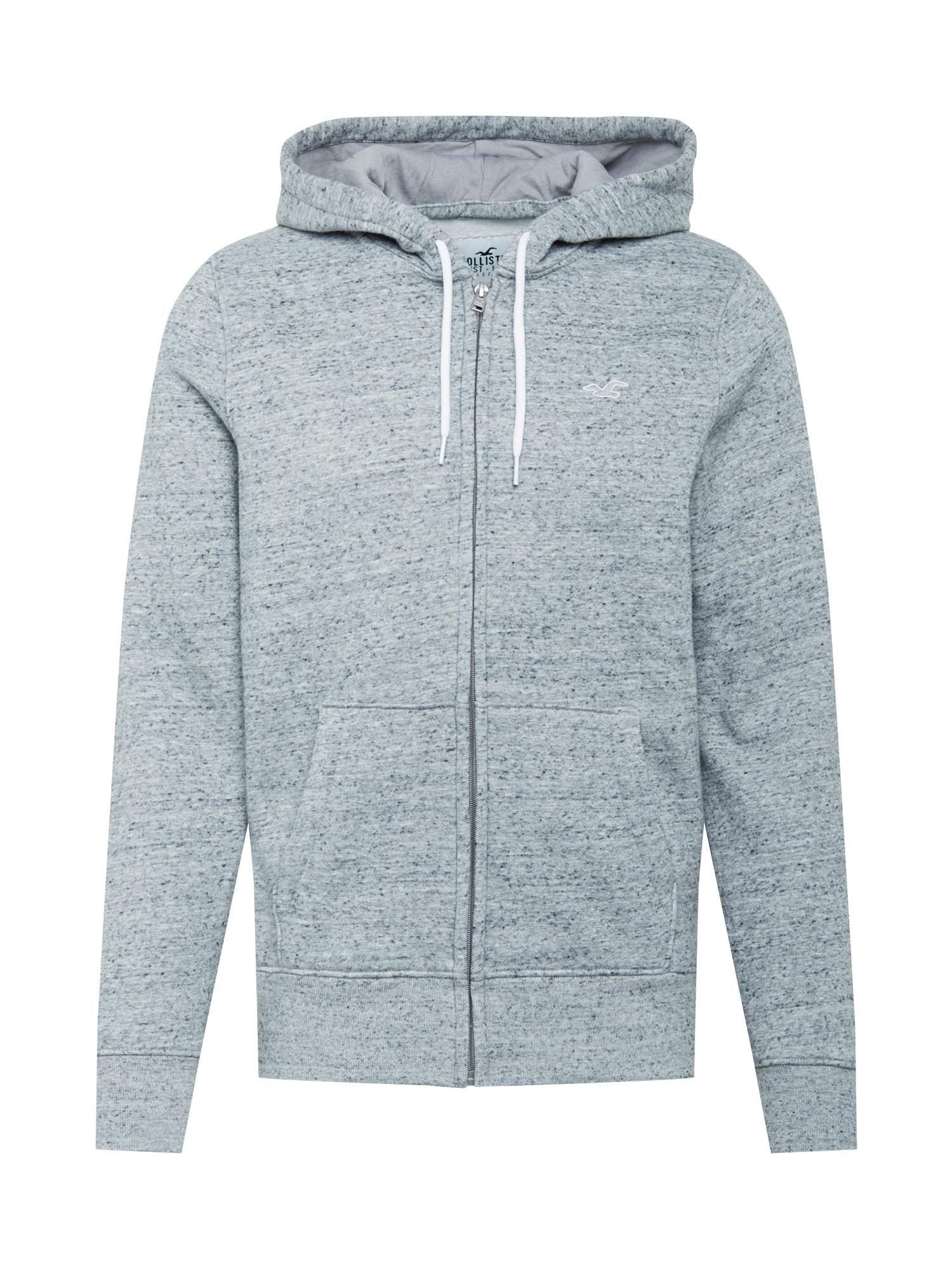HOLLISTER Džemperis margai pilka