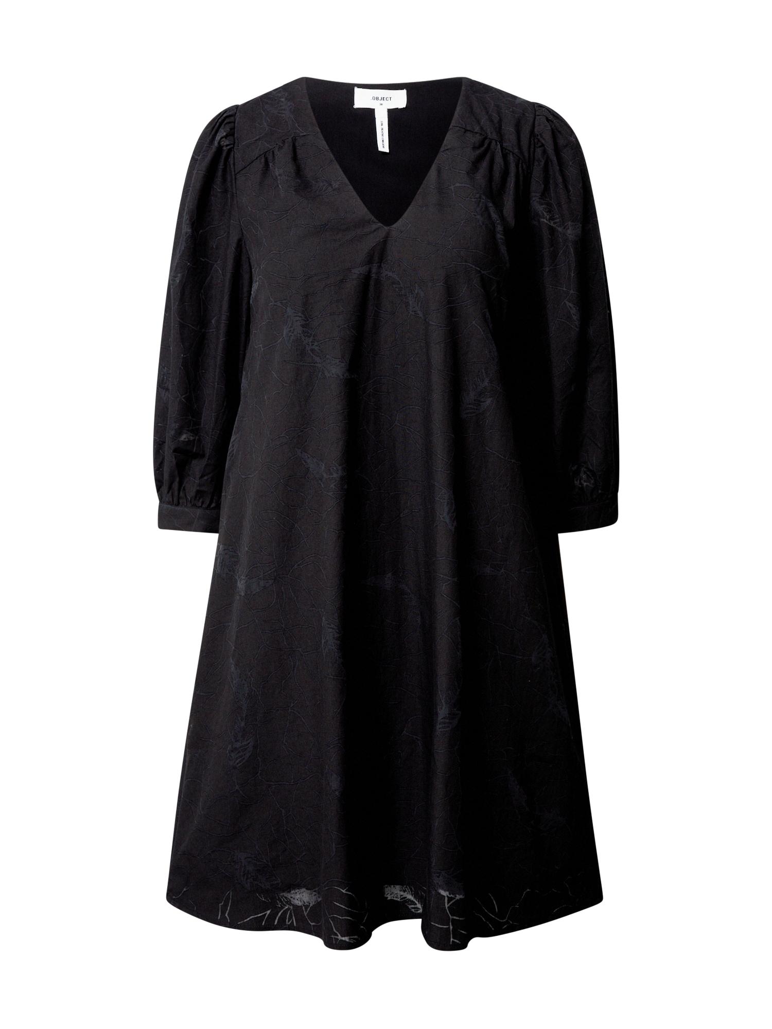 OBJECT Šaty 'Eleni'  černá
