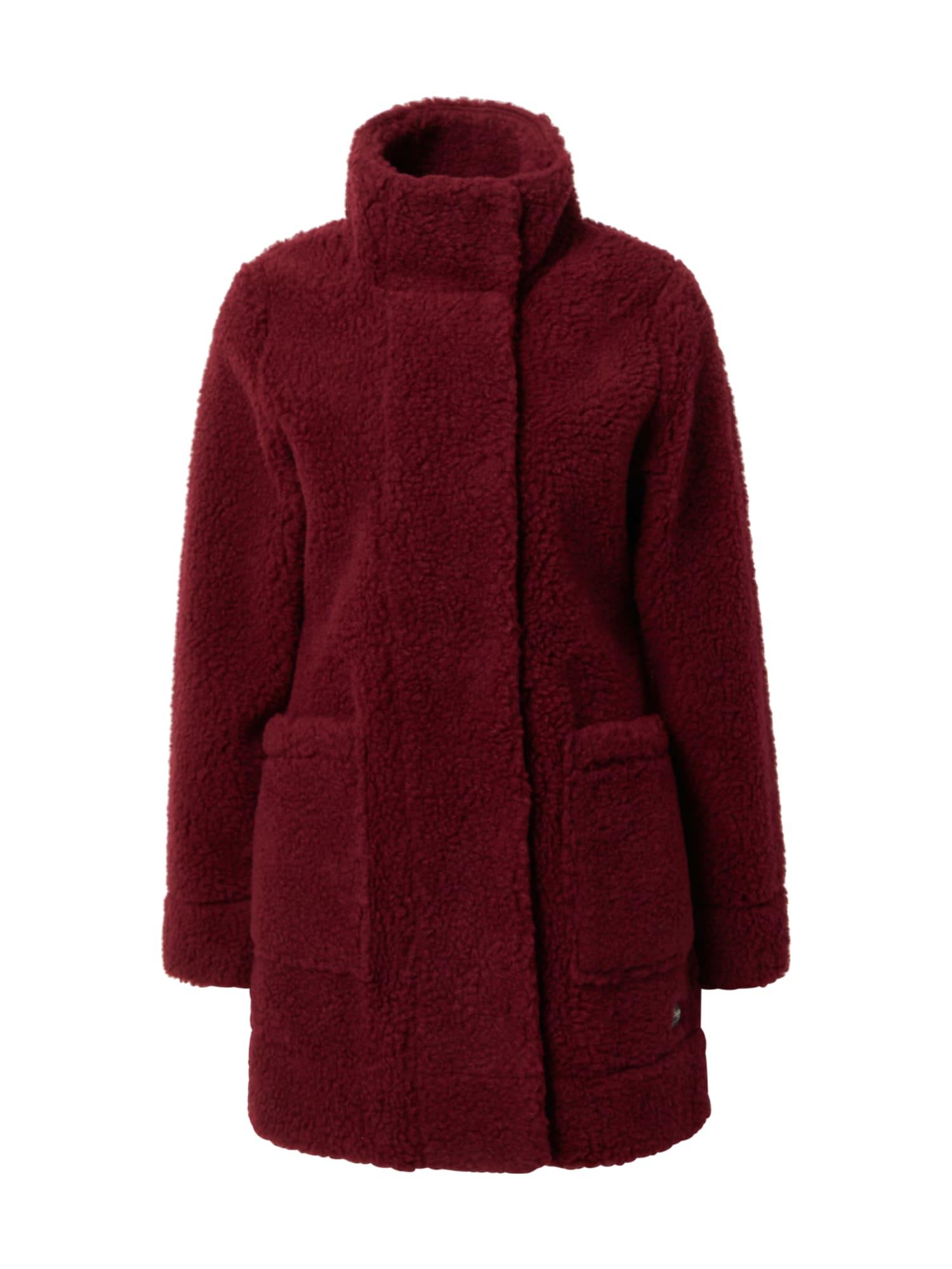 Bergans Outdoorový kabát  vínově červená