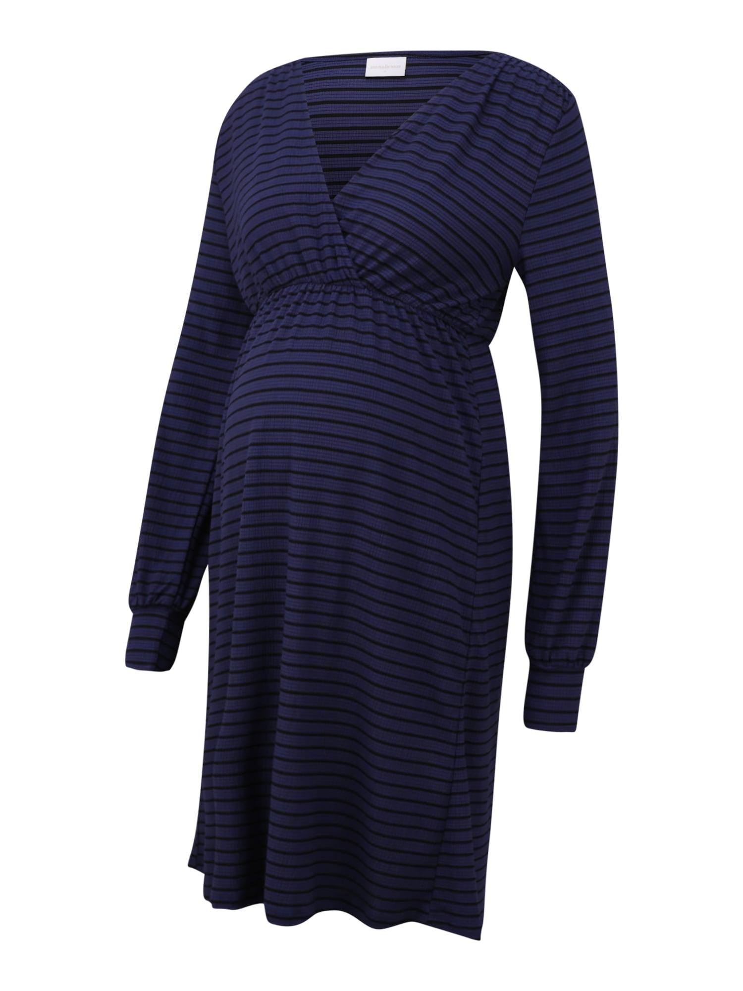 MAMALICIOUS Suknelė mėlyna / juoda