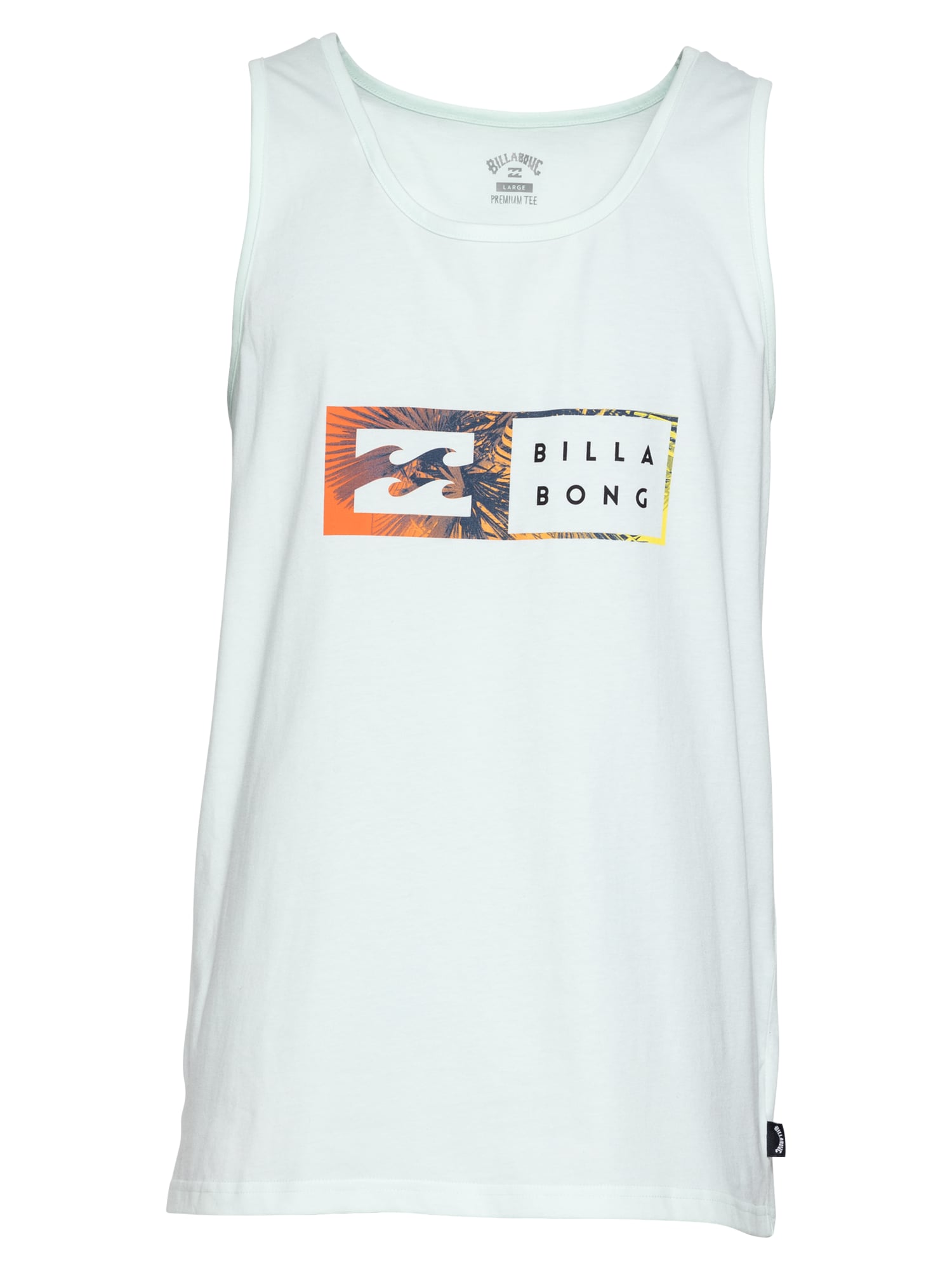 BILLABONG Funkční tričko  azurová / koňaková