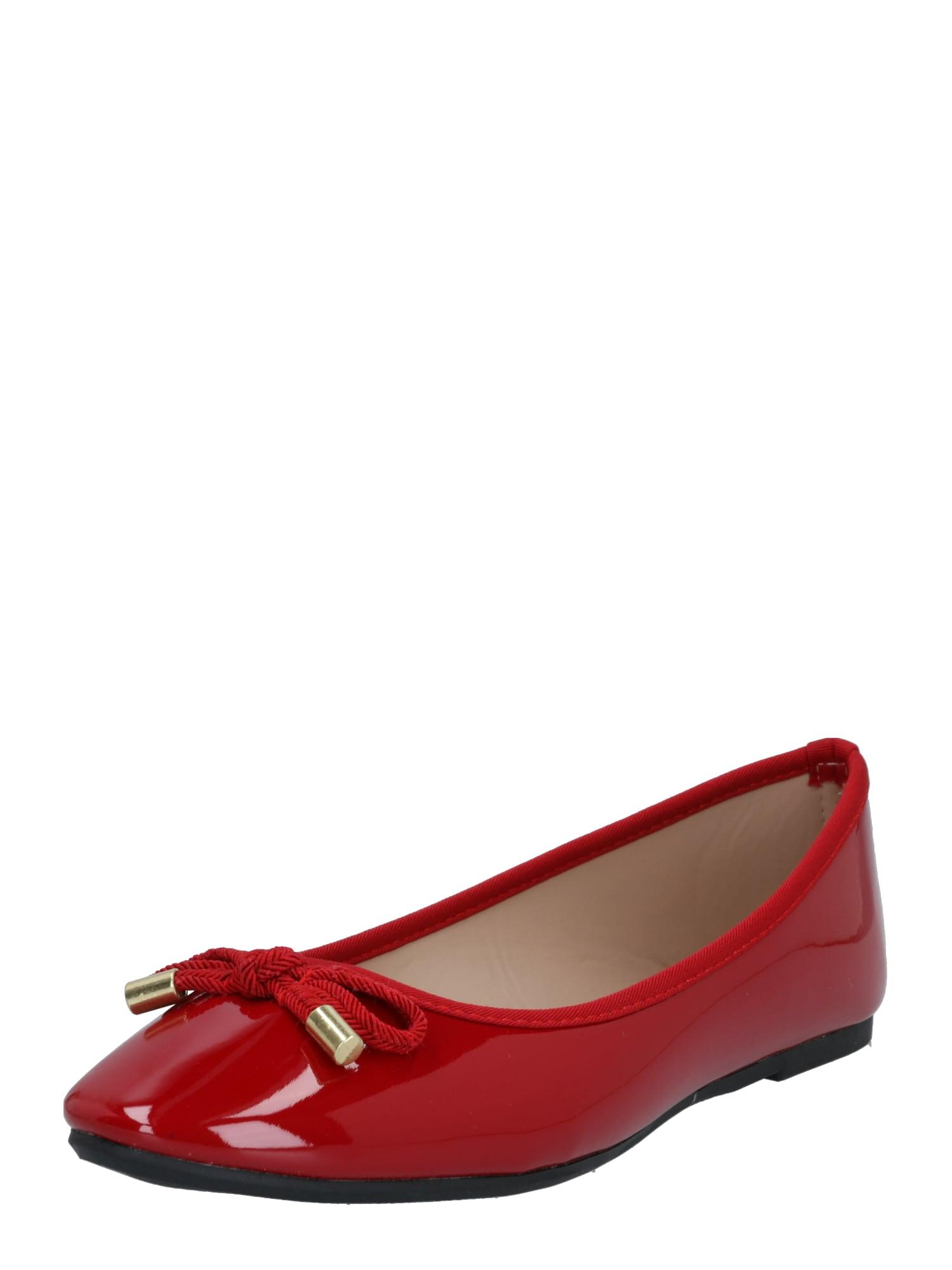 Dorothy Perkins Balerinos raudona