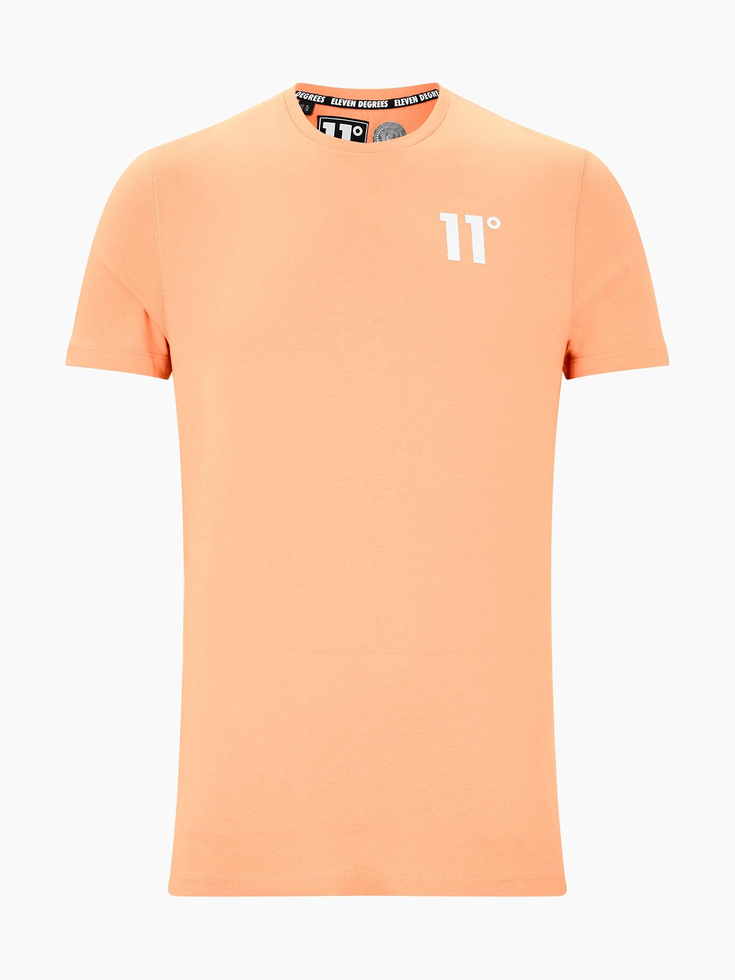 11 Degrees Marškinėliai 'CORE' persikų spalva