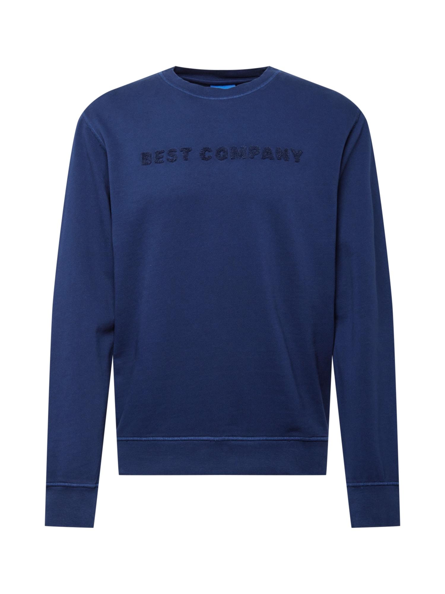 Best Company Megztinis be užsegimo tamsiai mėlyna / nakties mėlyna