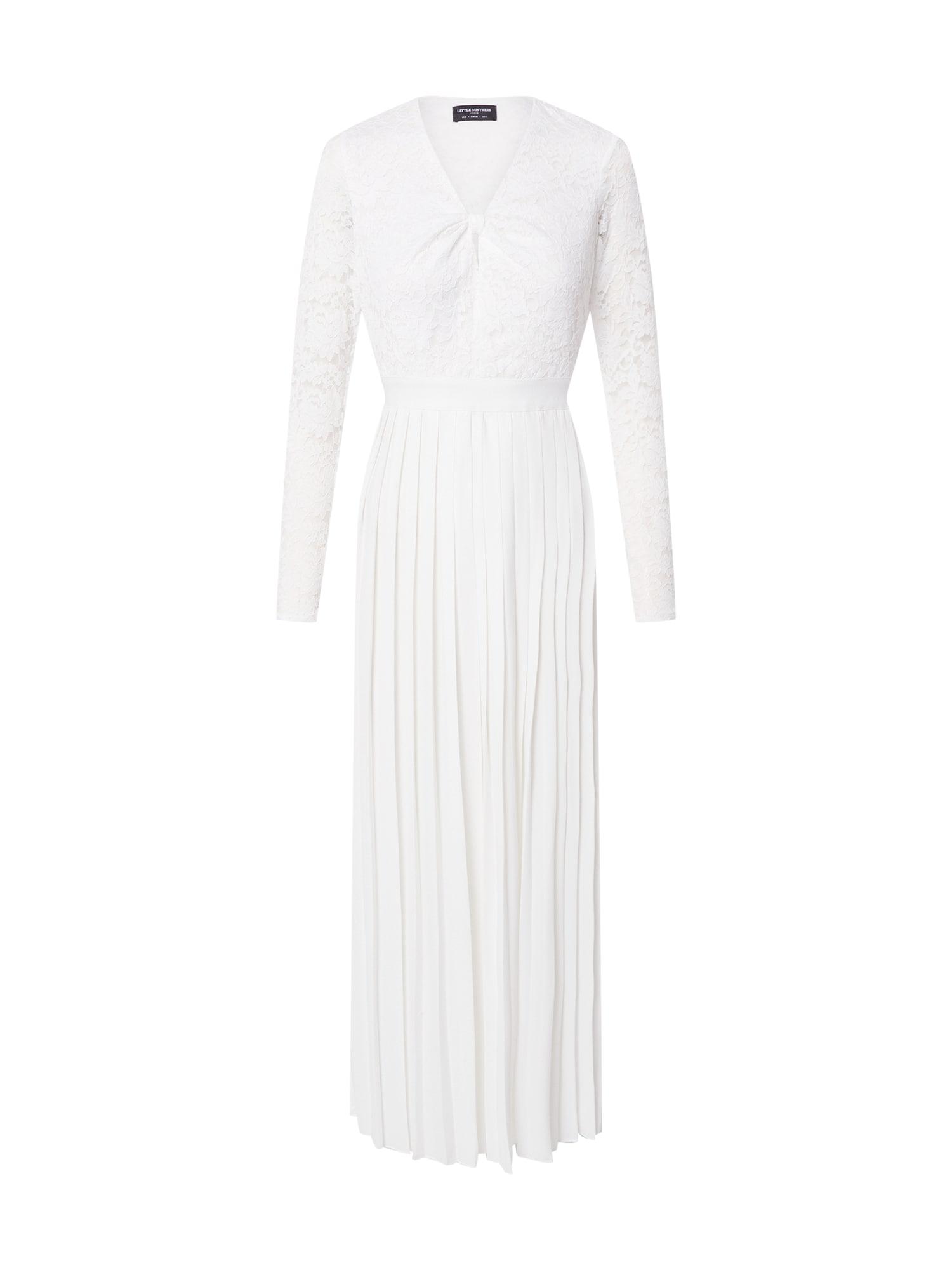 Little Mistress Kokteilinė suknelė balta