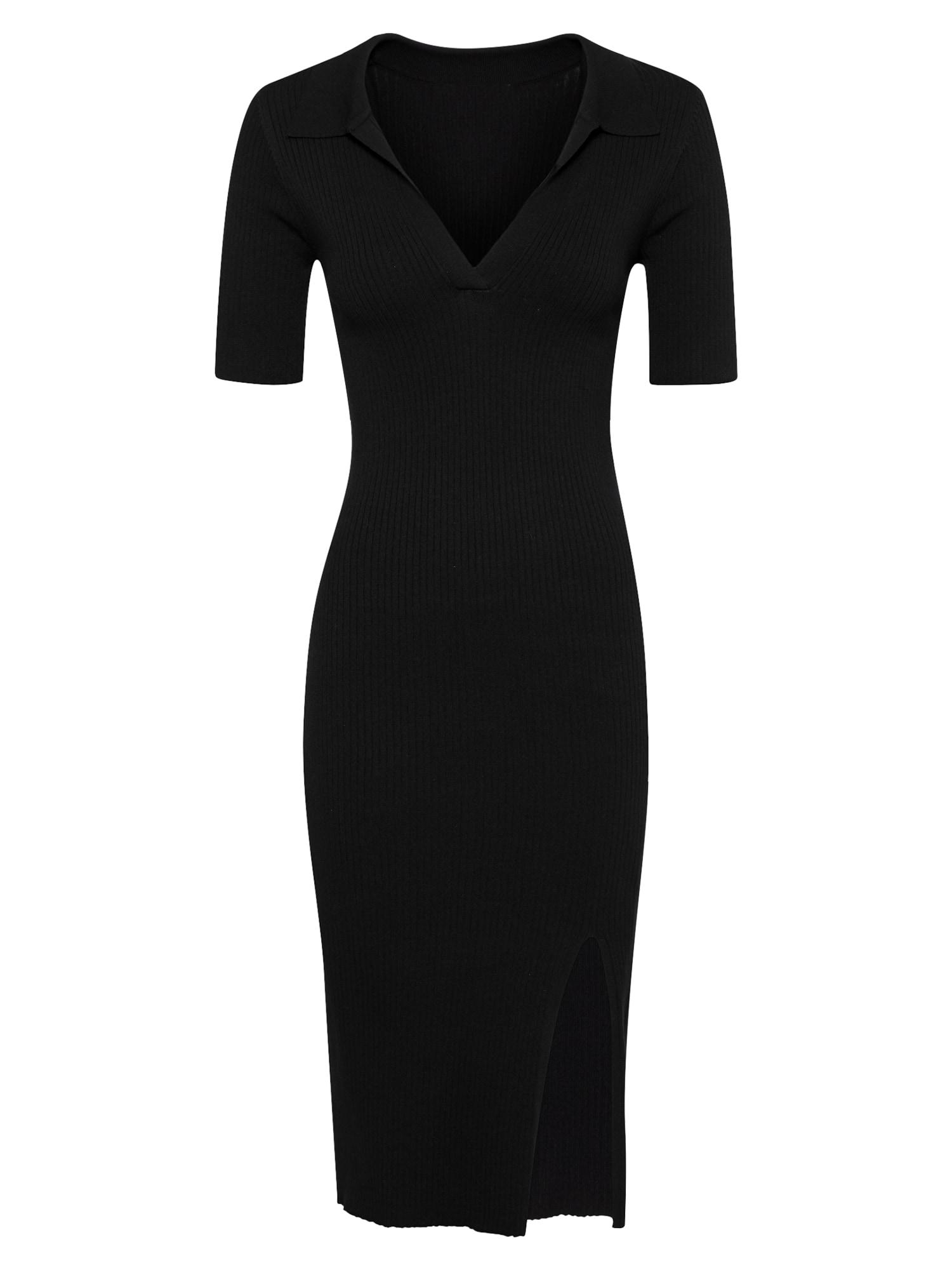 Neo Noir Megzta suknelė