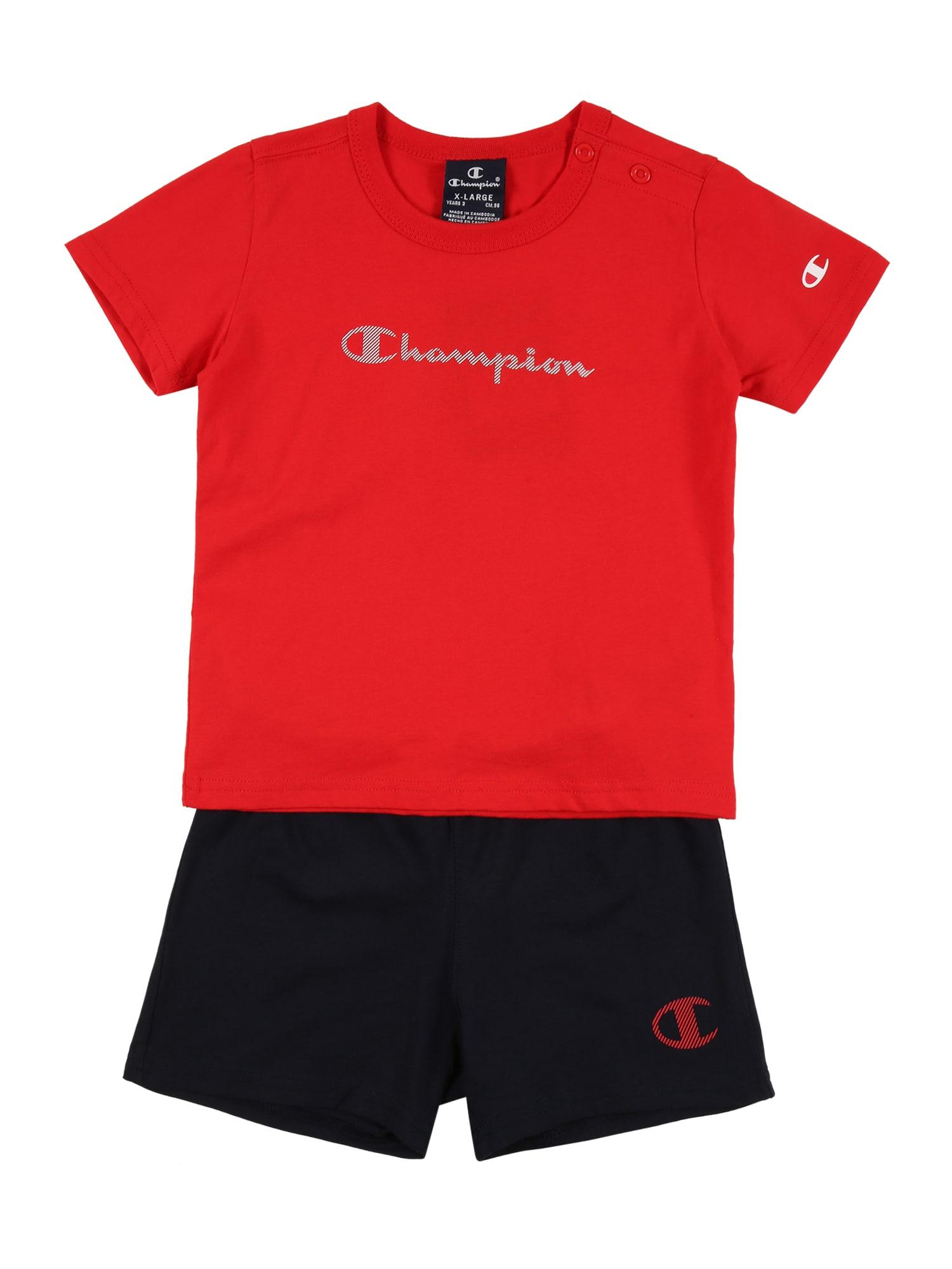 Champion Authentic Athletic Apparel Rinkinys raudona / tamsiai mėlyna / pilka / balta