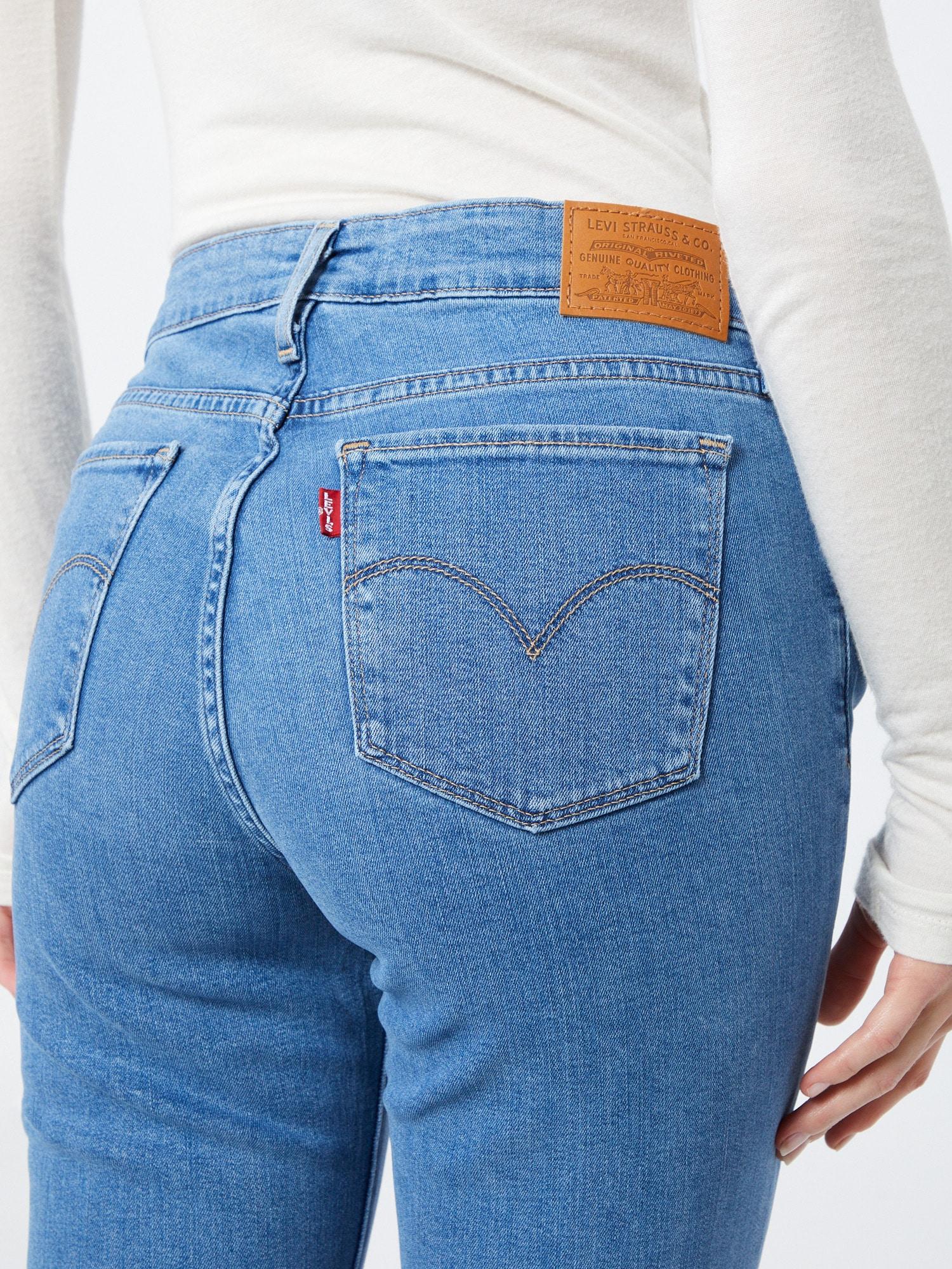 LEVI'S Džínsy '711™ Skinny'  modrá denim.