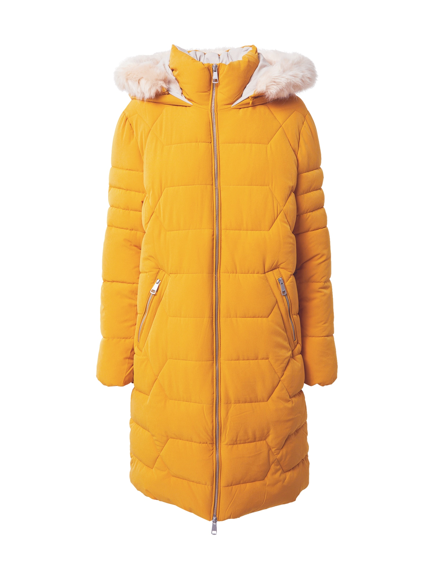 ESPRIT Žieminis paltas geltona