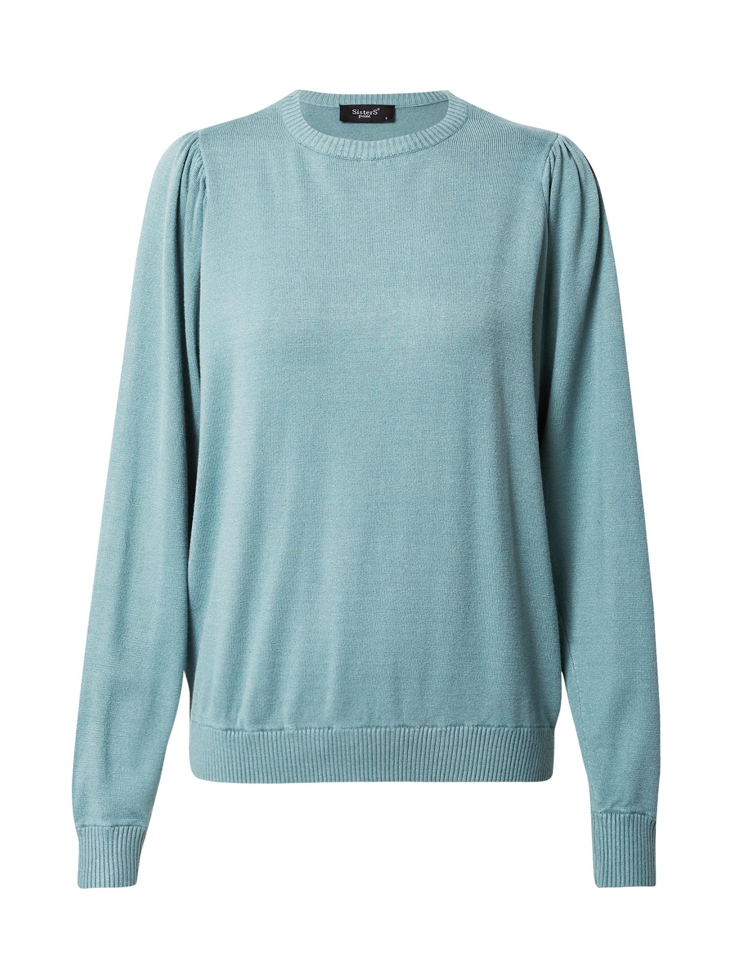 SISTERS POINT Megztinis šviesiai mėlyna / turkio spalva