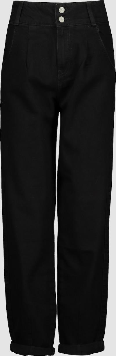 High Waist Slouchy Jeans mit zerstörten Partien. Ihre Form betont die Körperfigur und zeigt eine kleine und schöne Taille. Dieser Modetrend ruft nach Entspannung, Lässigkeit und Komfort. Entworfen mit einem ausgefallenen doppelten Boden und Reißverschluss.