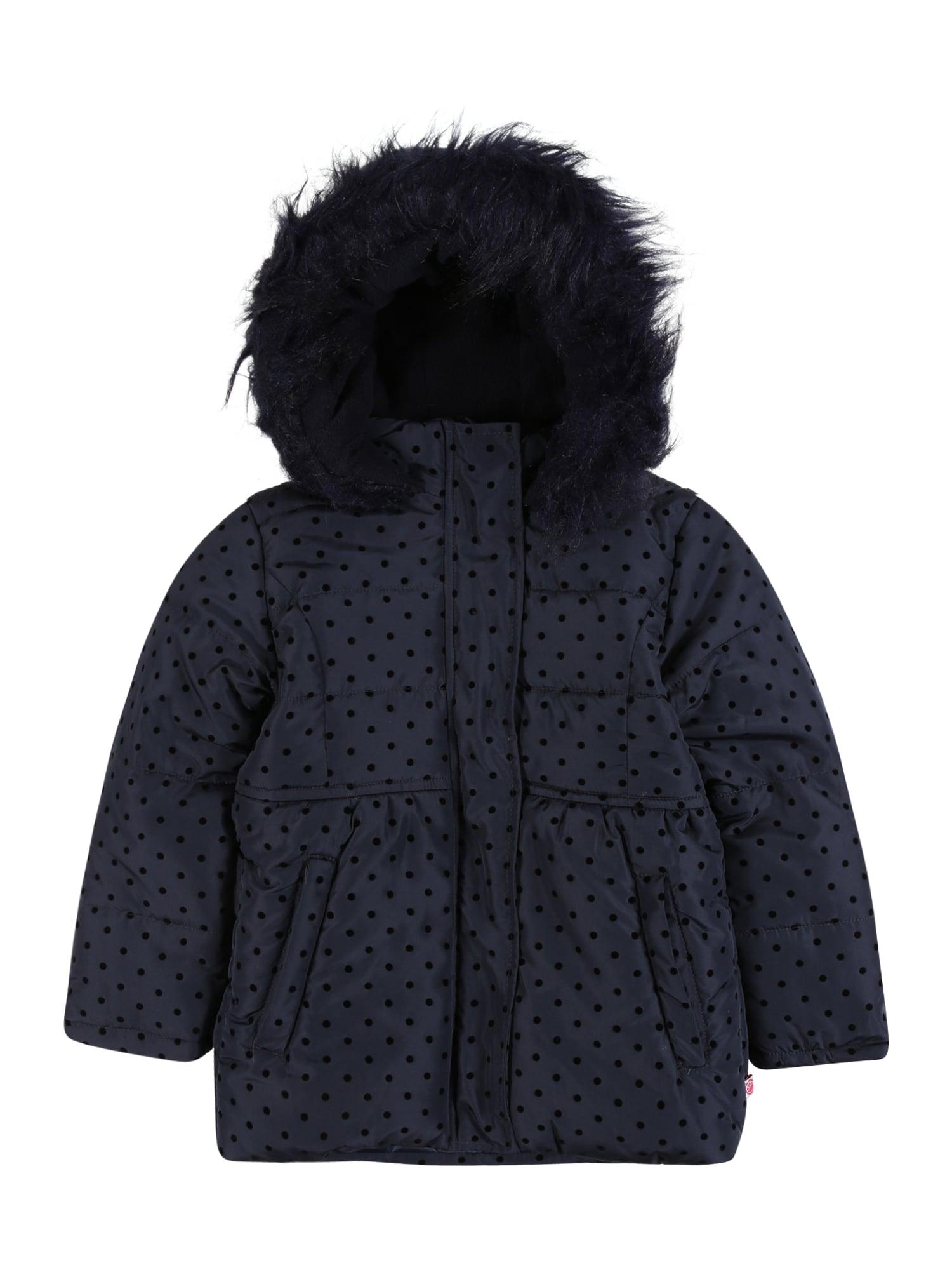 LEMON BERET Žieminė striukė tamsiai mėlyna / juoda