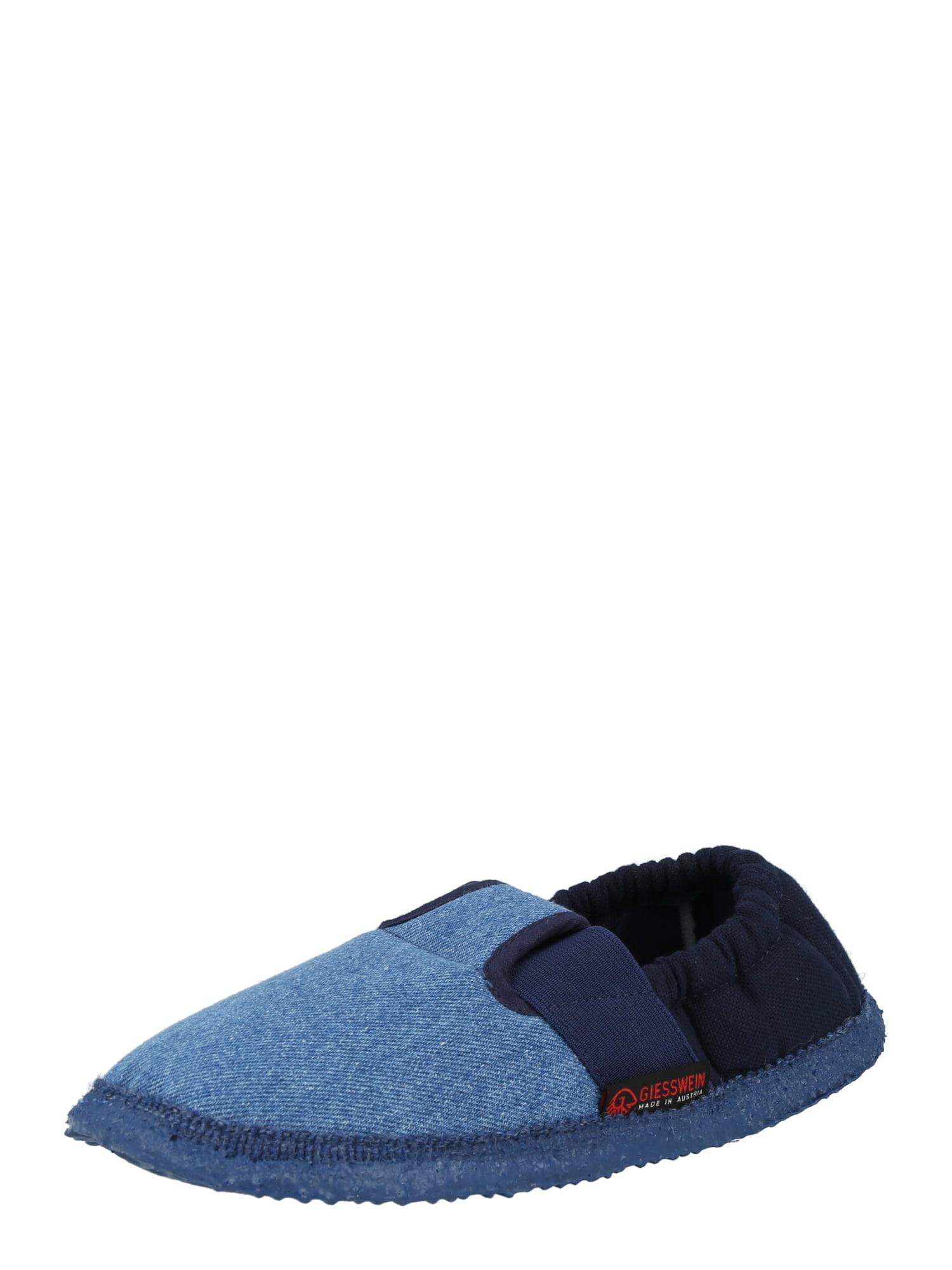 GIESSWEIN Pantofle 'Aichach'  modrá džínovina / tmavě modrá