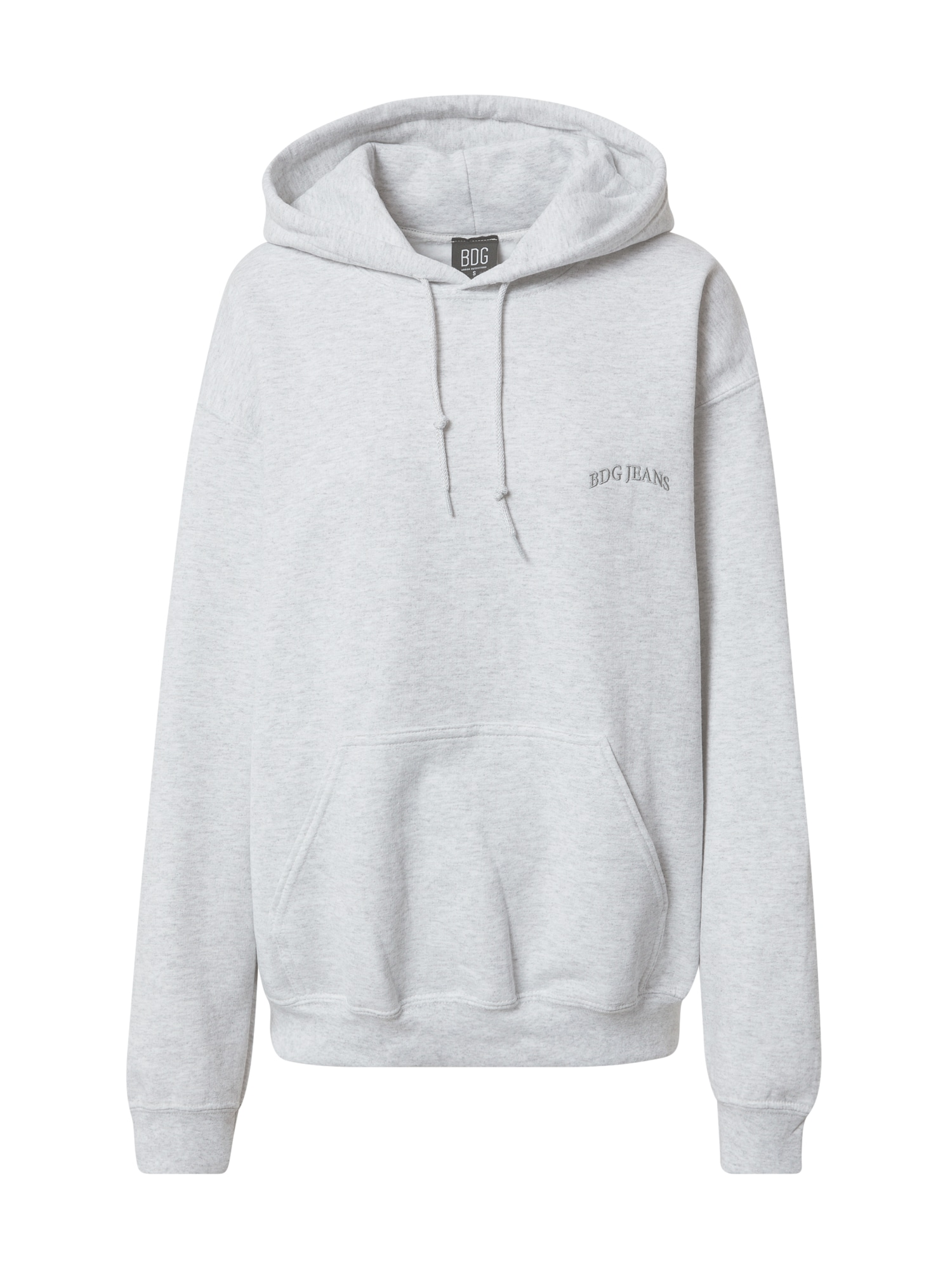 BDG Urban Outfitters Megztinis be užsegimo šviesiai pilka