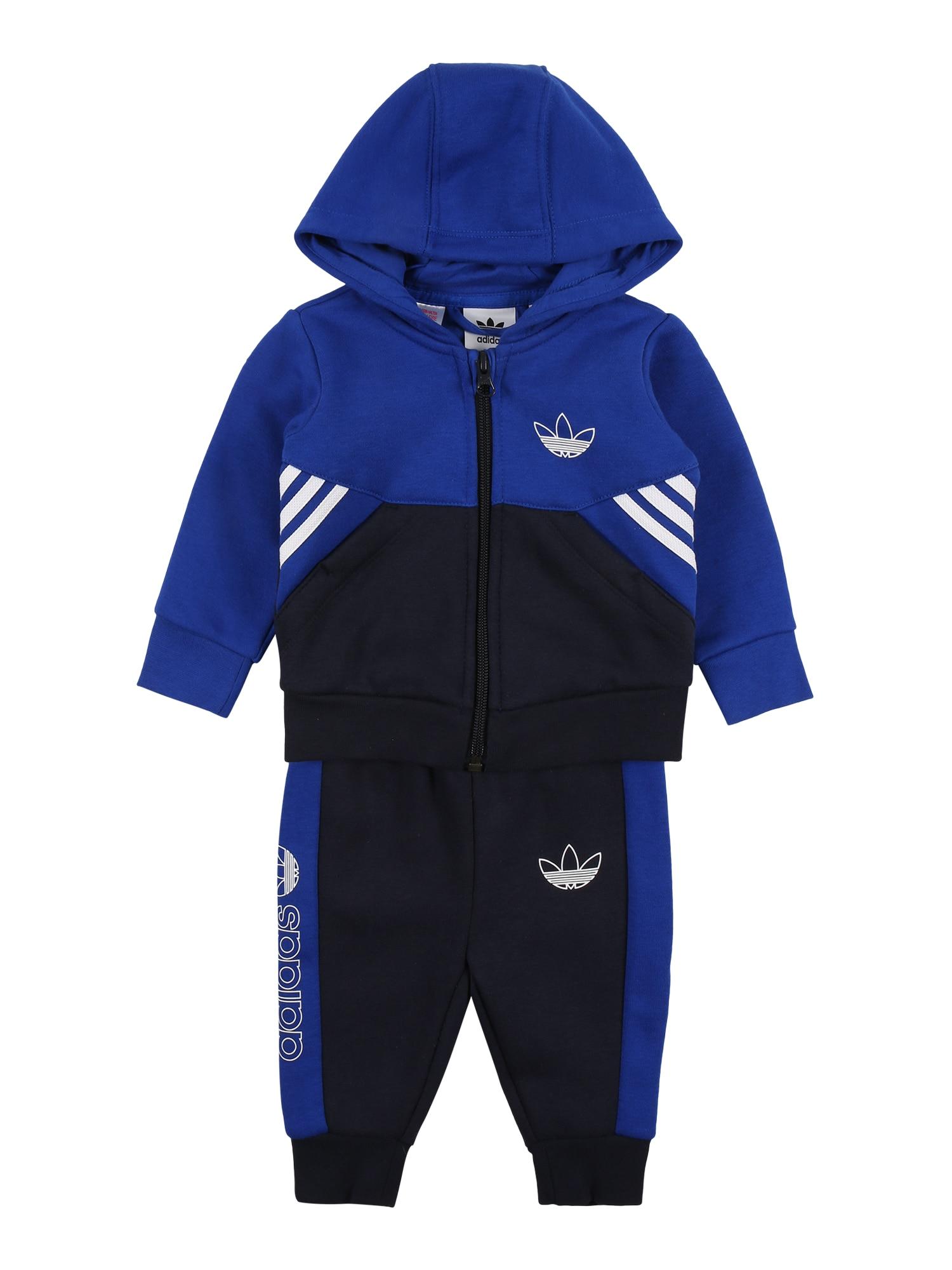 ADIDAS ORIGINALS Treningas mėlyna / tamsiai mėlyna / balta