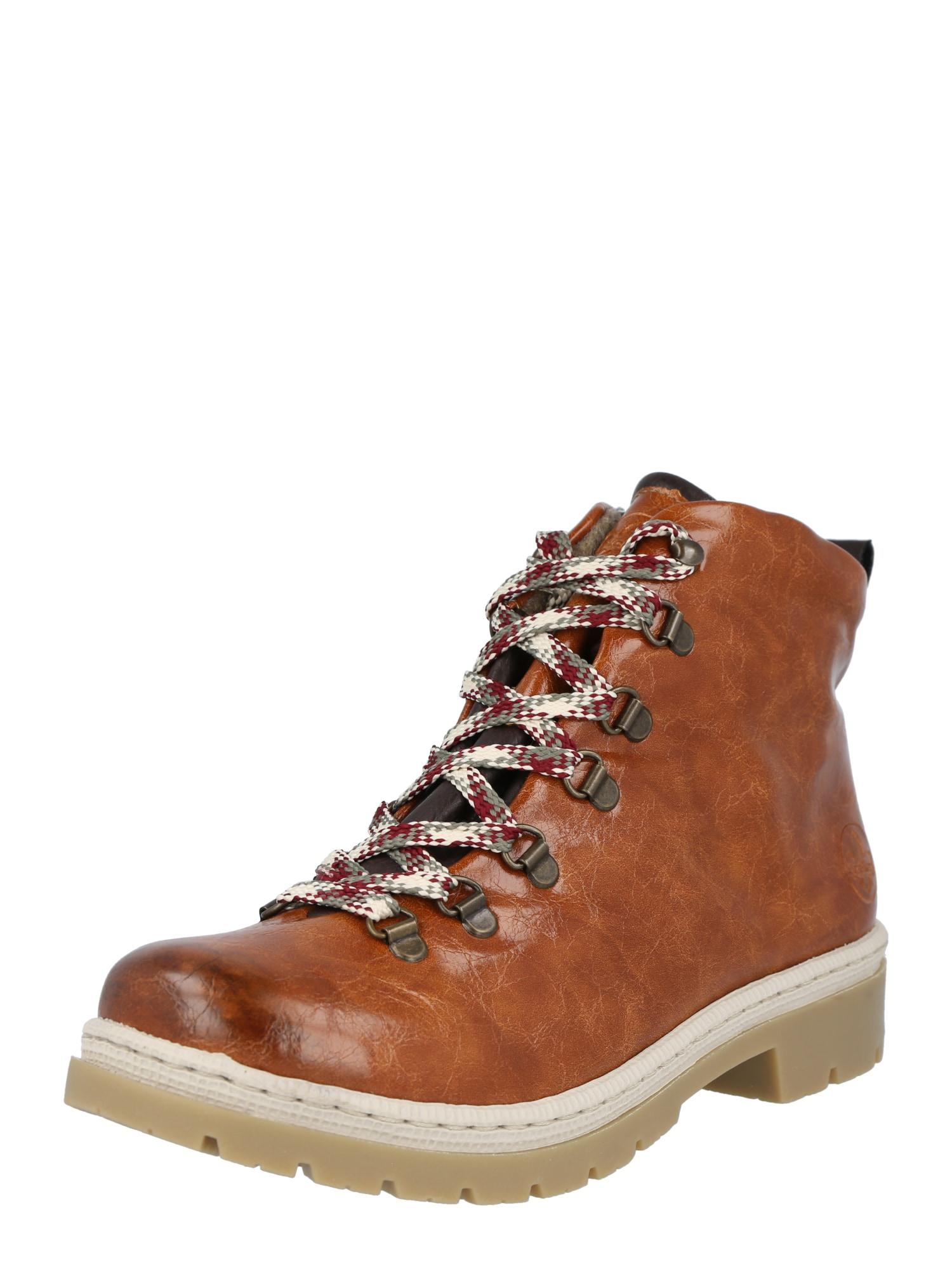 RIEKER Auliniai batai ruda