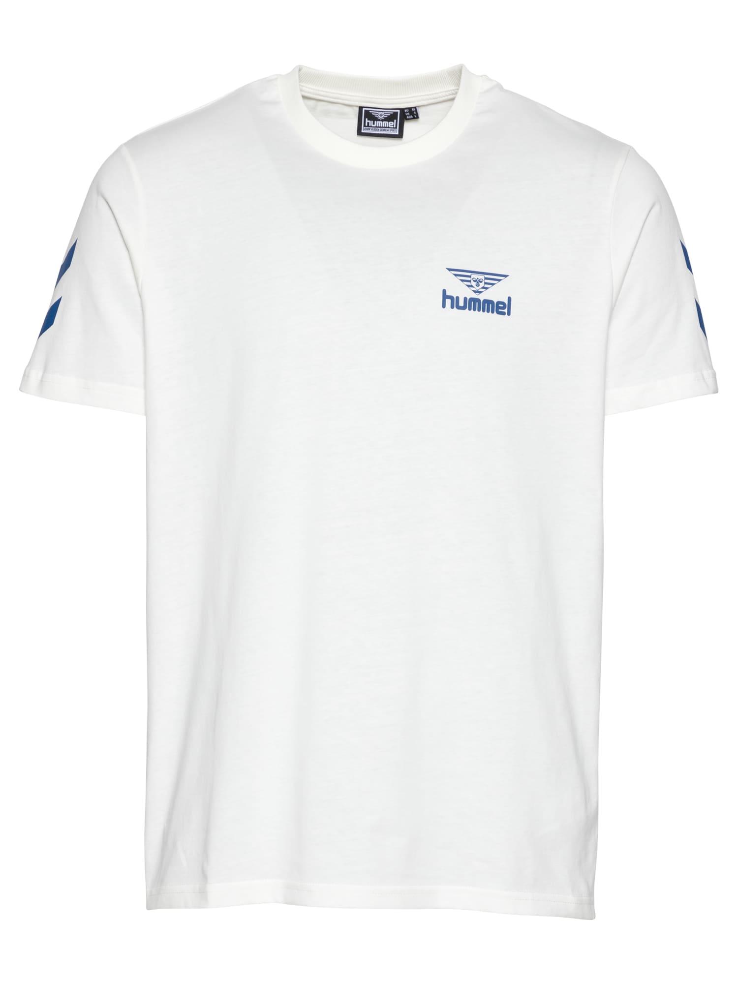 "hummel hive Marškinėliai natūrali balta / sodri mėlyna (""karališka"")"