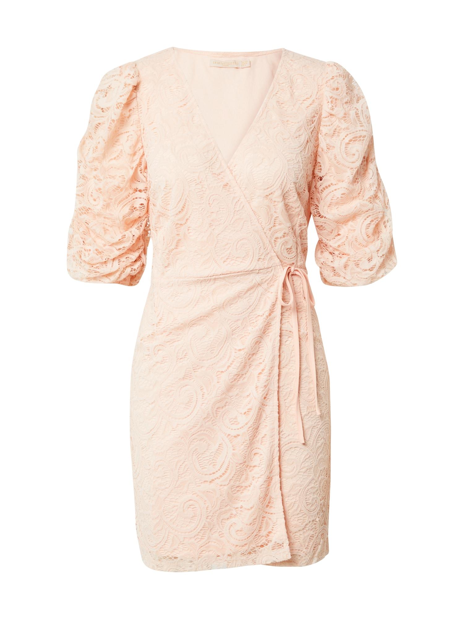 Skirt & Stiletto Kokteilinė suknelė rožinė