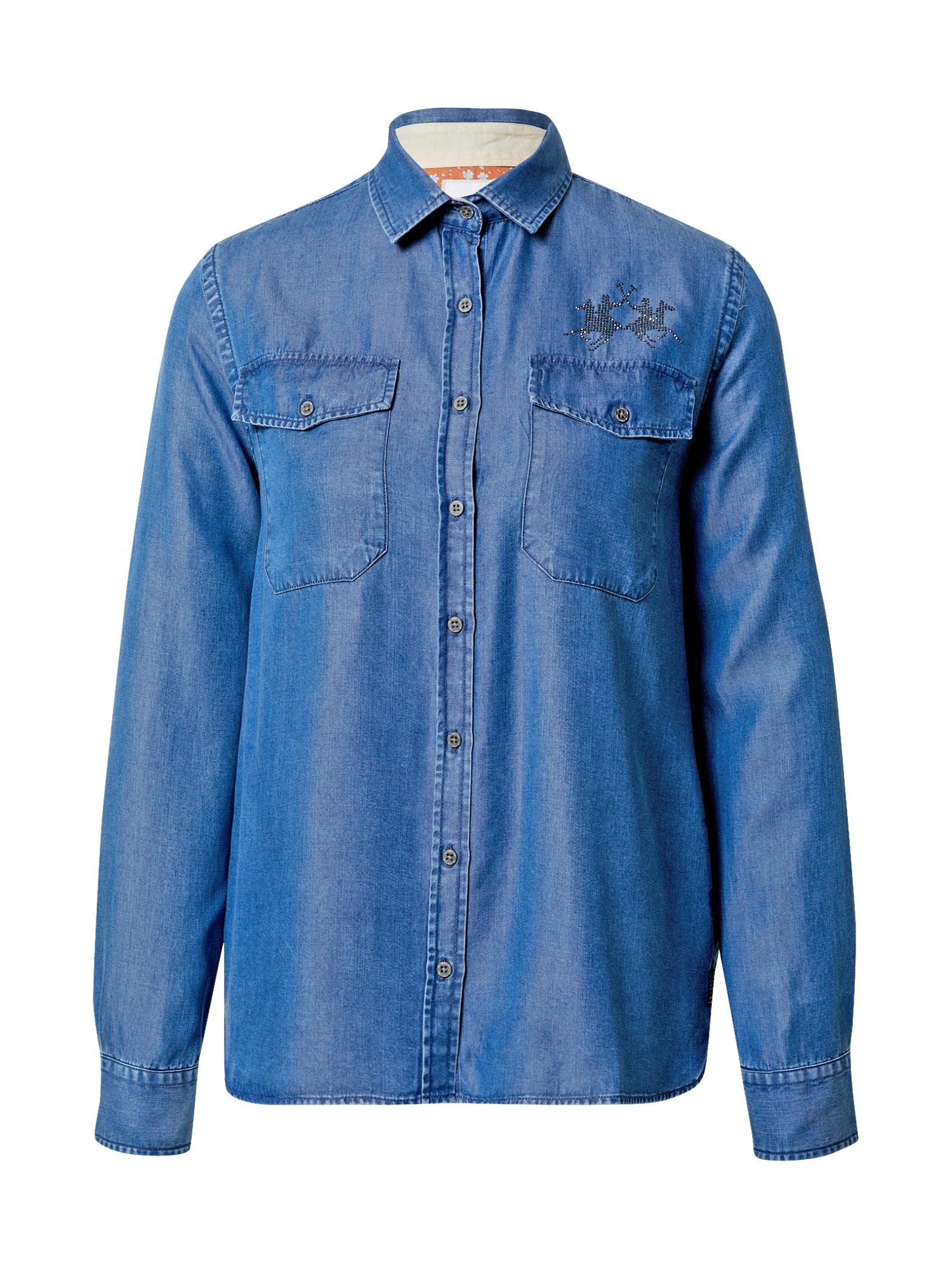 La Martina Palaidinė tamsiai (džinso) mėlyna