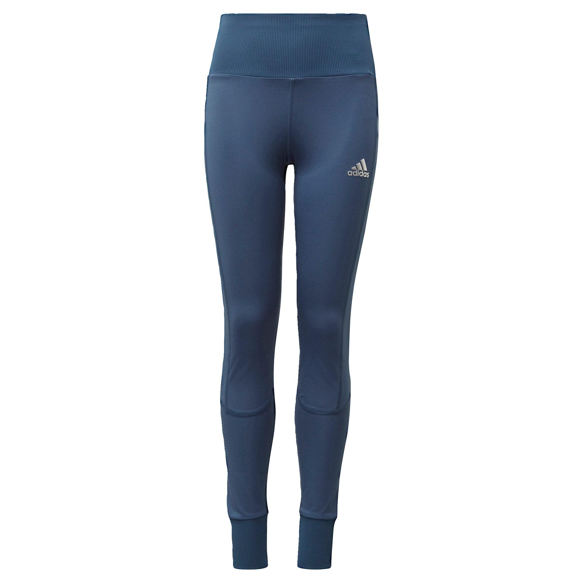 ADIDAS PERFORMANCE Sportinės kelnės 'Comfort Workout' mėlyna / balta