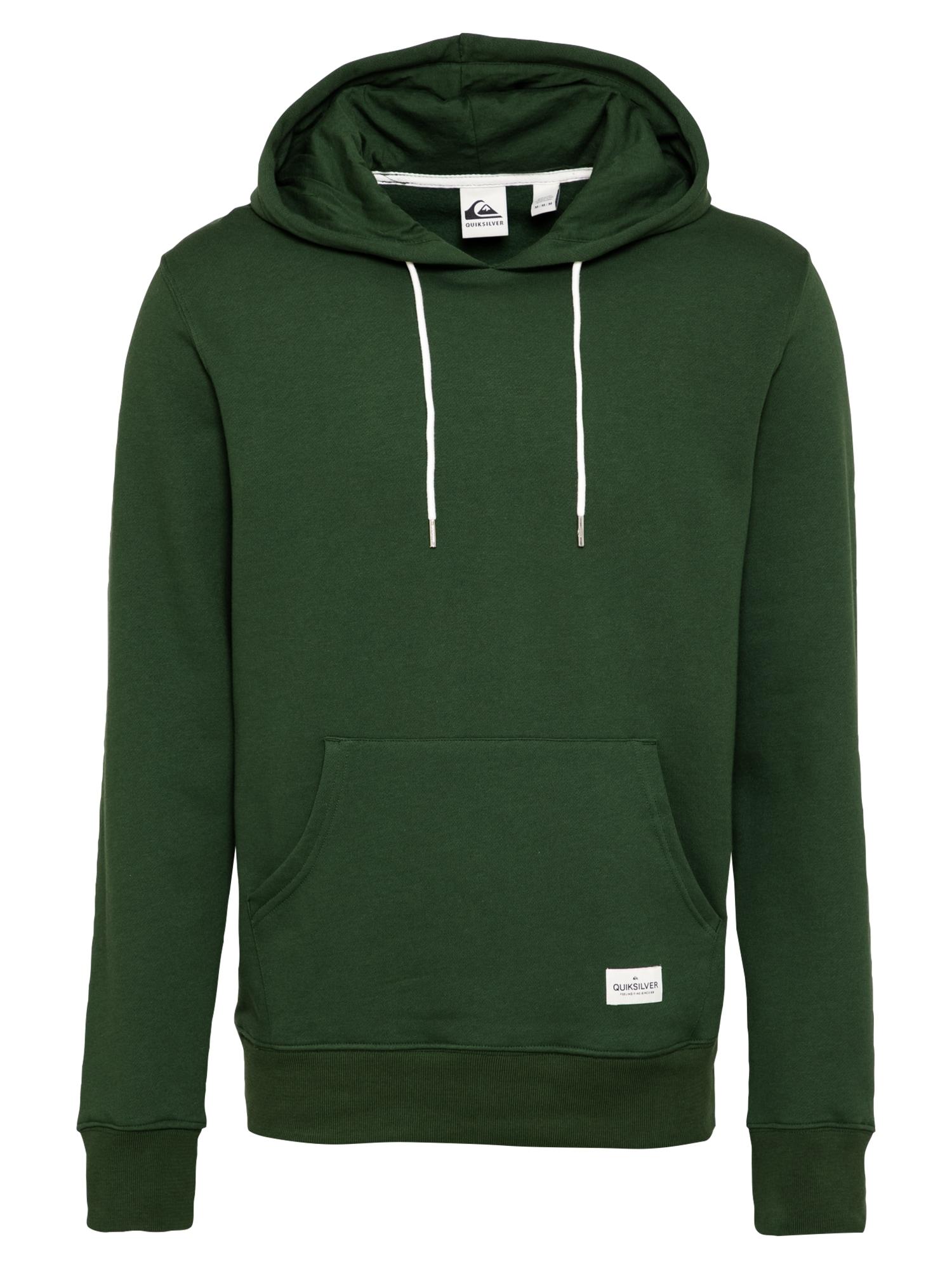 QUIKSILVER Sportinio tipo megztinis tamsiai žalia