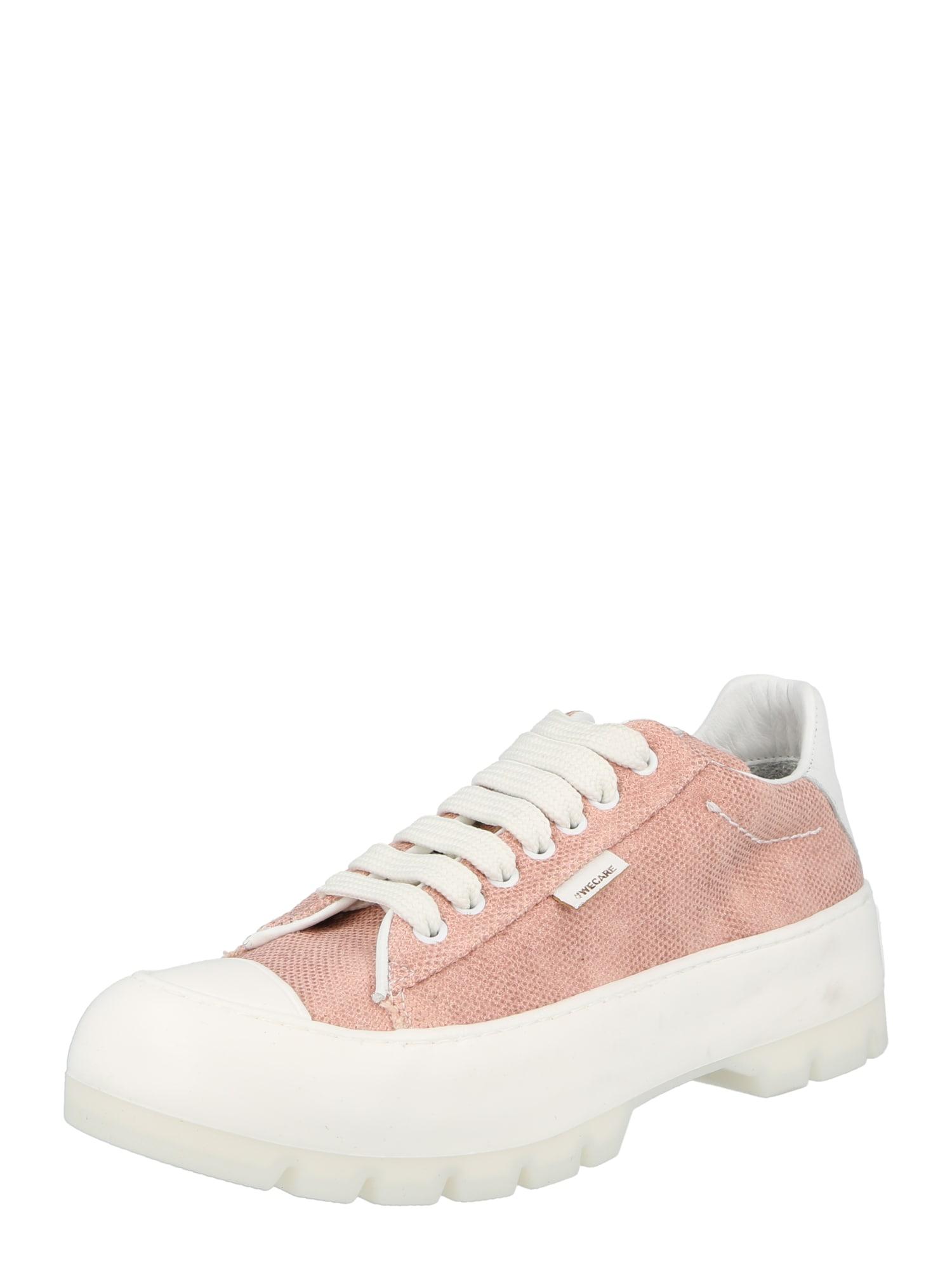 Greyderlab Sportbačiai be auliuko ryškiai rožinė spalva / balta