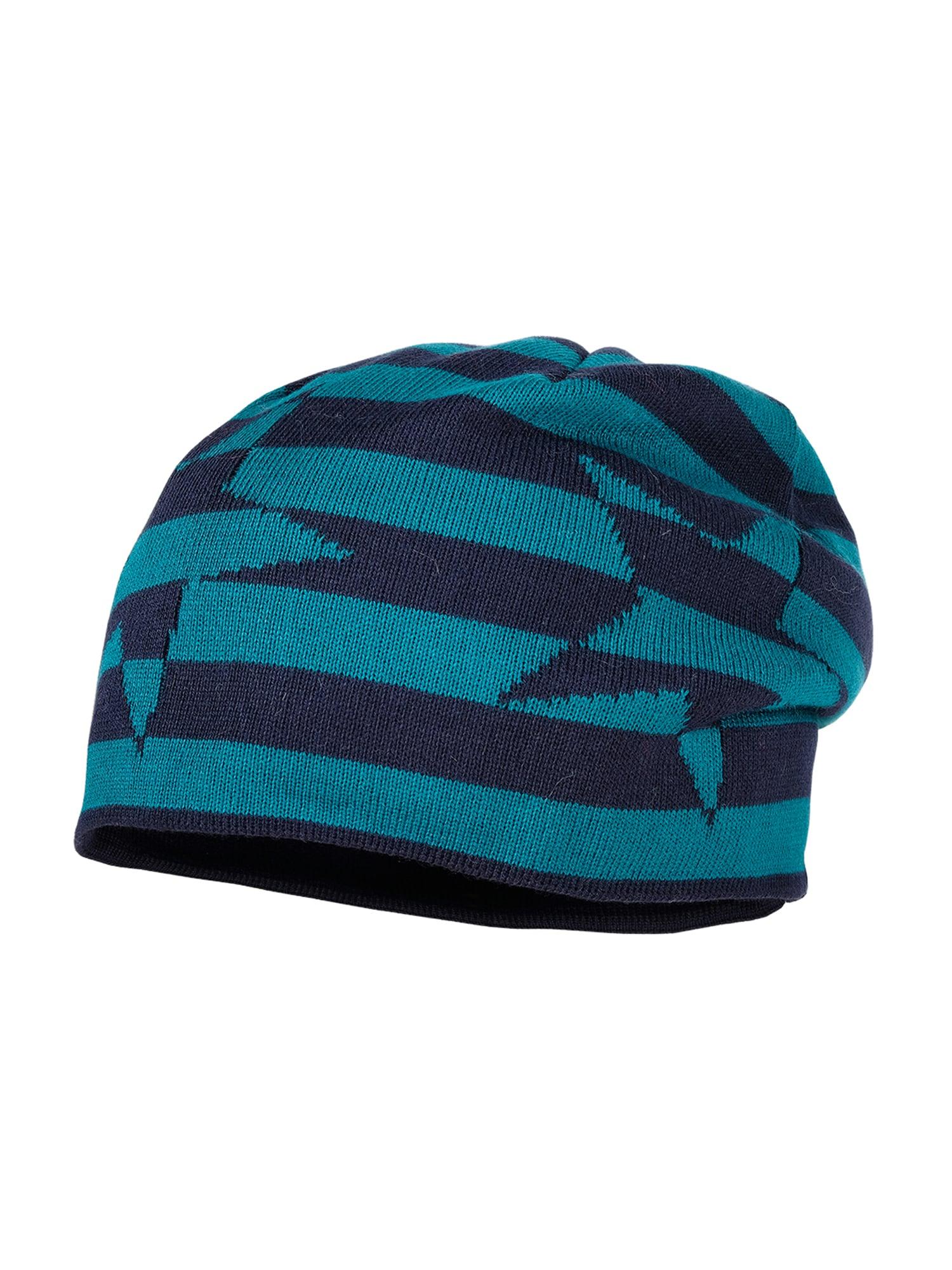 MAXIMO Megzta kepurė tamsiai mėlyna jūros spalva / benzino spalva
